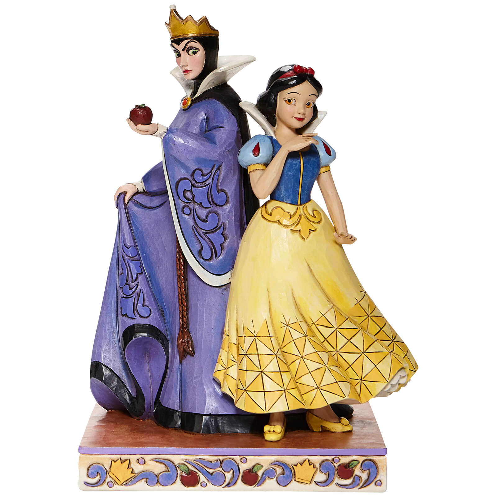 Image of Disney Snow White and Evil Queen Figure
