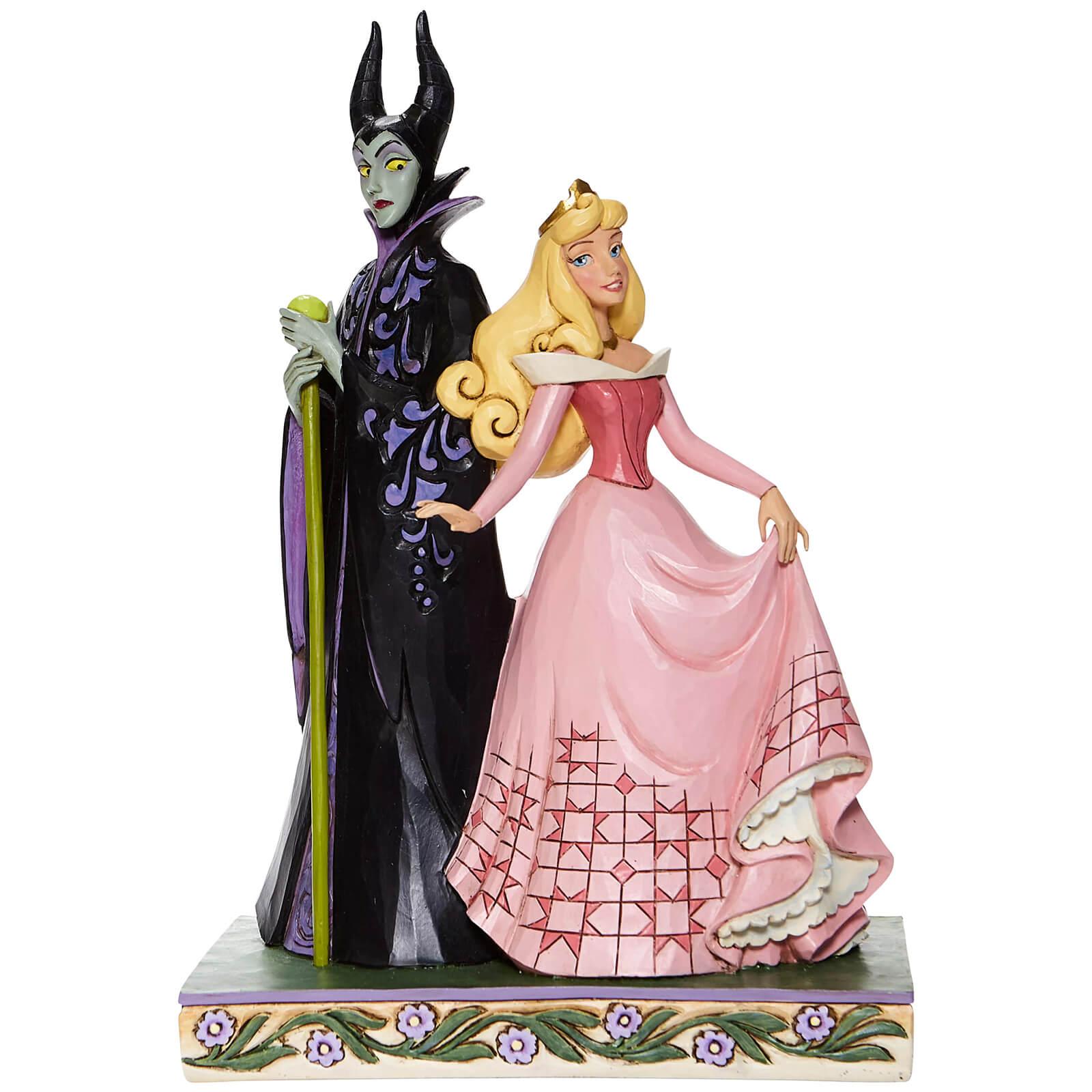 Image of Disney Aurora and Maleficent Figurine