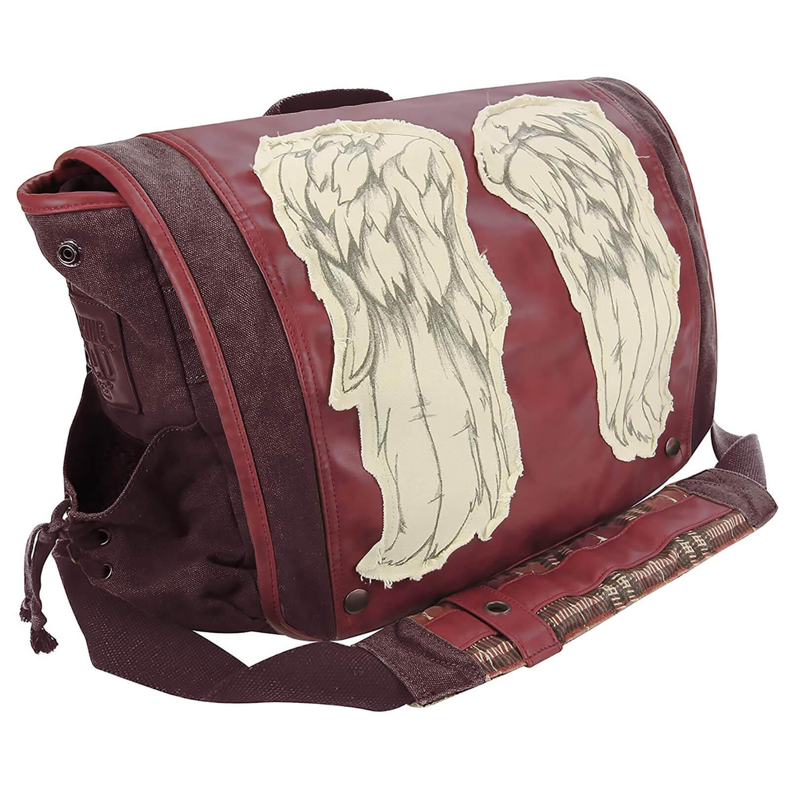 Coop Walking Dead Daryl Wings Messenger Bag Dead Red
