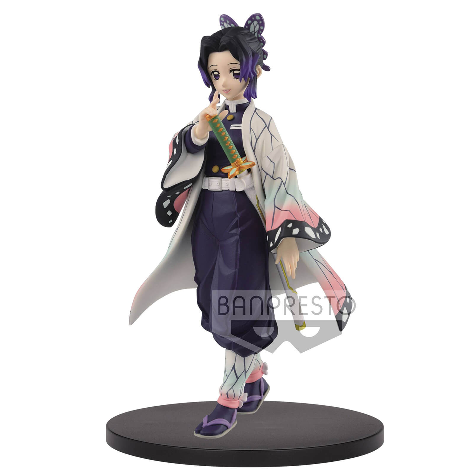 Image of Bandai Demon Slayer: Kimetsu No Yaiba Figure Vol.9 (B:Shinobu Kocho) Figure