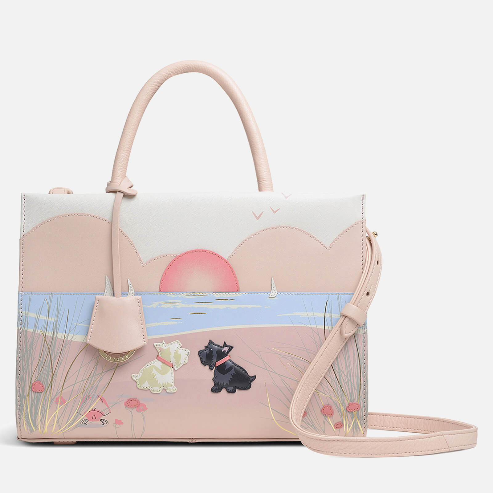Radley Women's Burgh Island Medium Ziptop Multiway Bag - Blush
