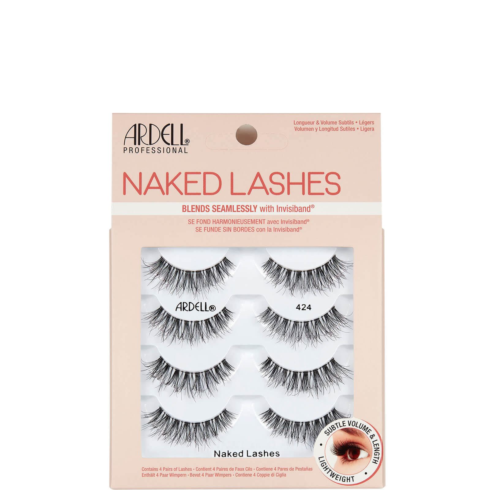 Ardell NAKED LASH 424 (4 PACK)