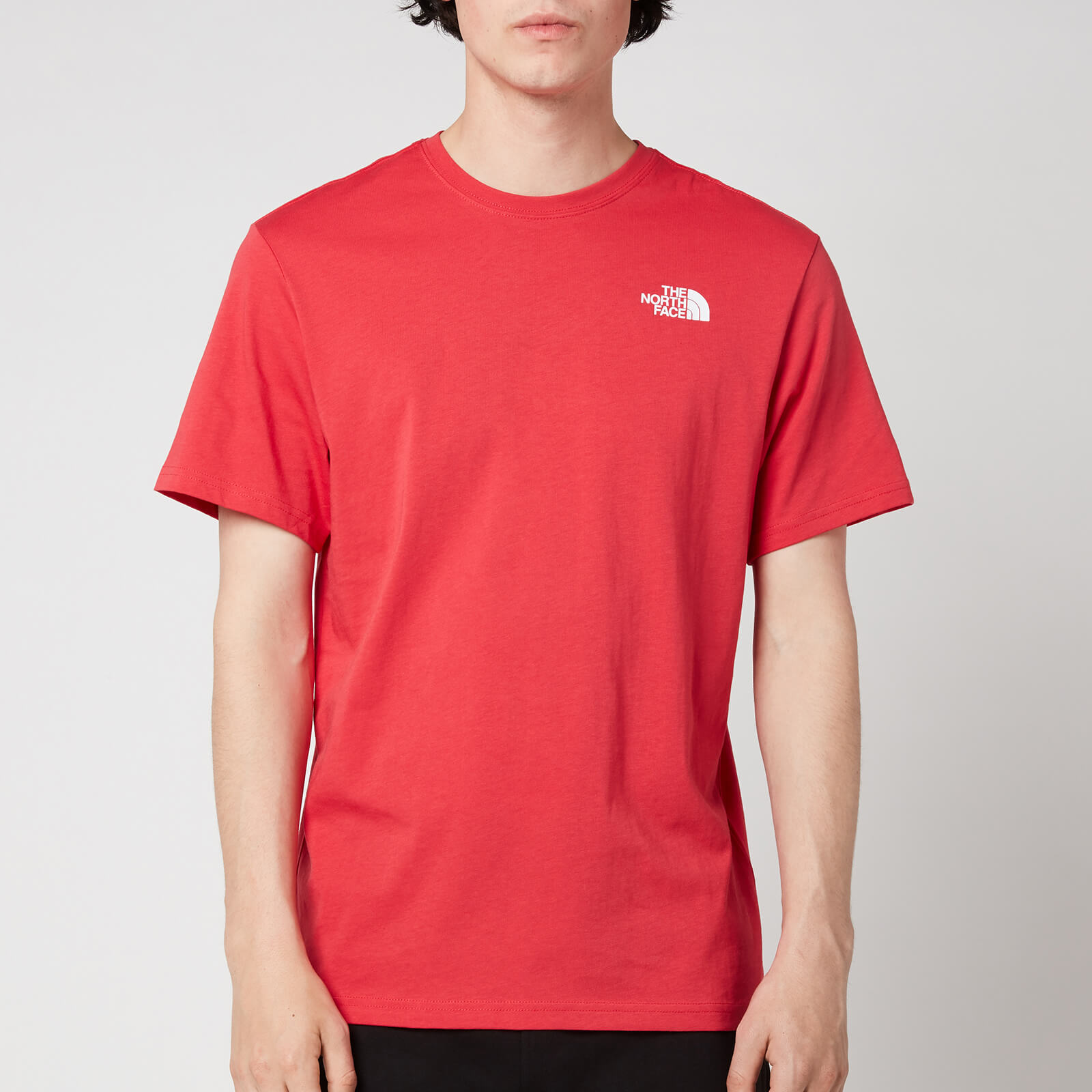The North Face Men's Redbox Short Sleeve T-Shirt - Rococco Red - S