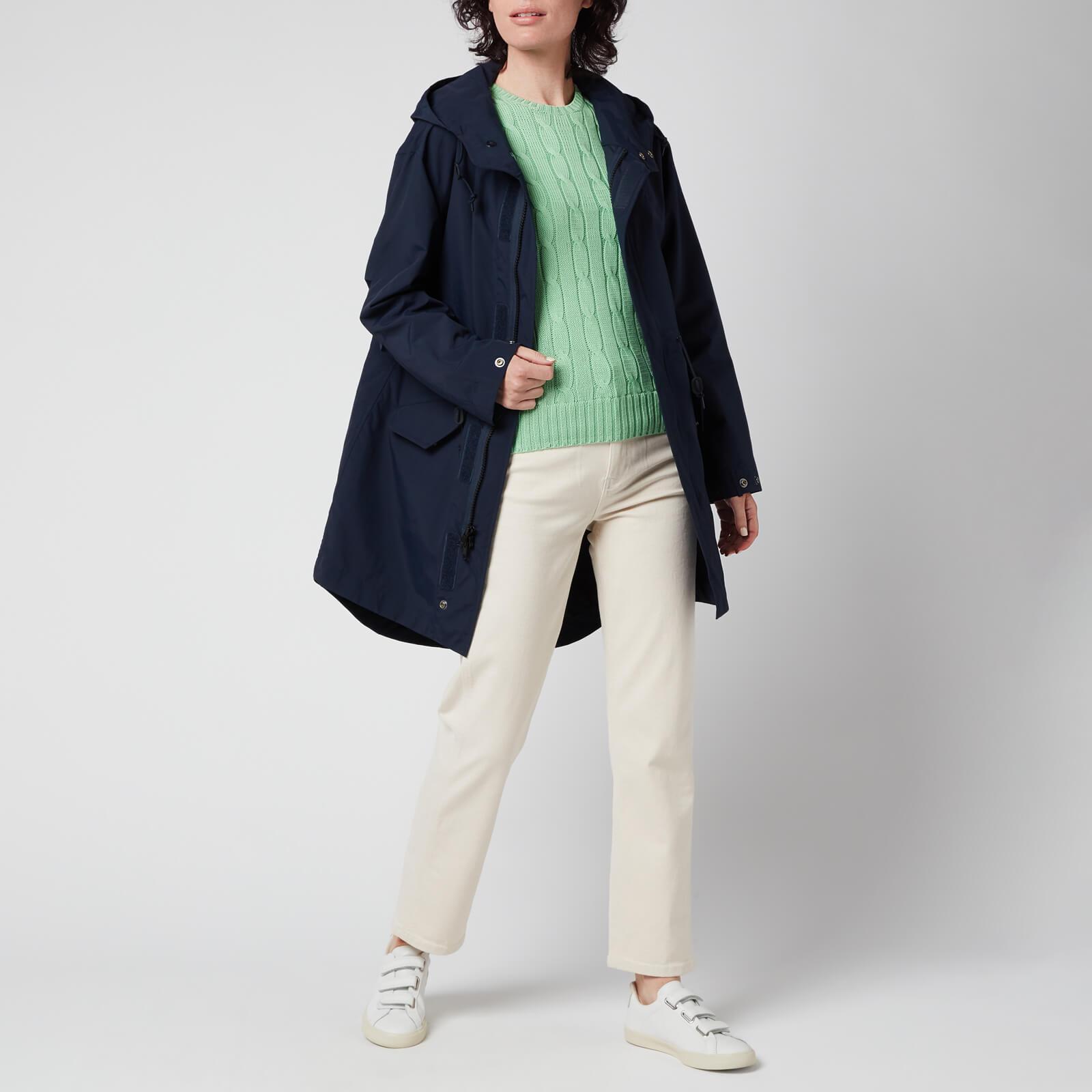 polo ralph lauren women's windbreaker jacket - aviator navy - xs