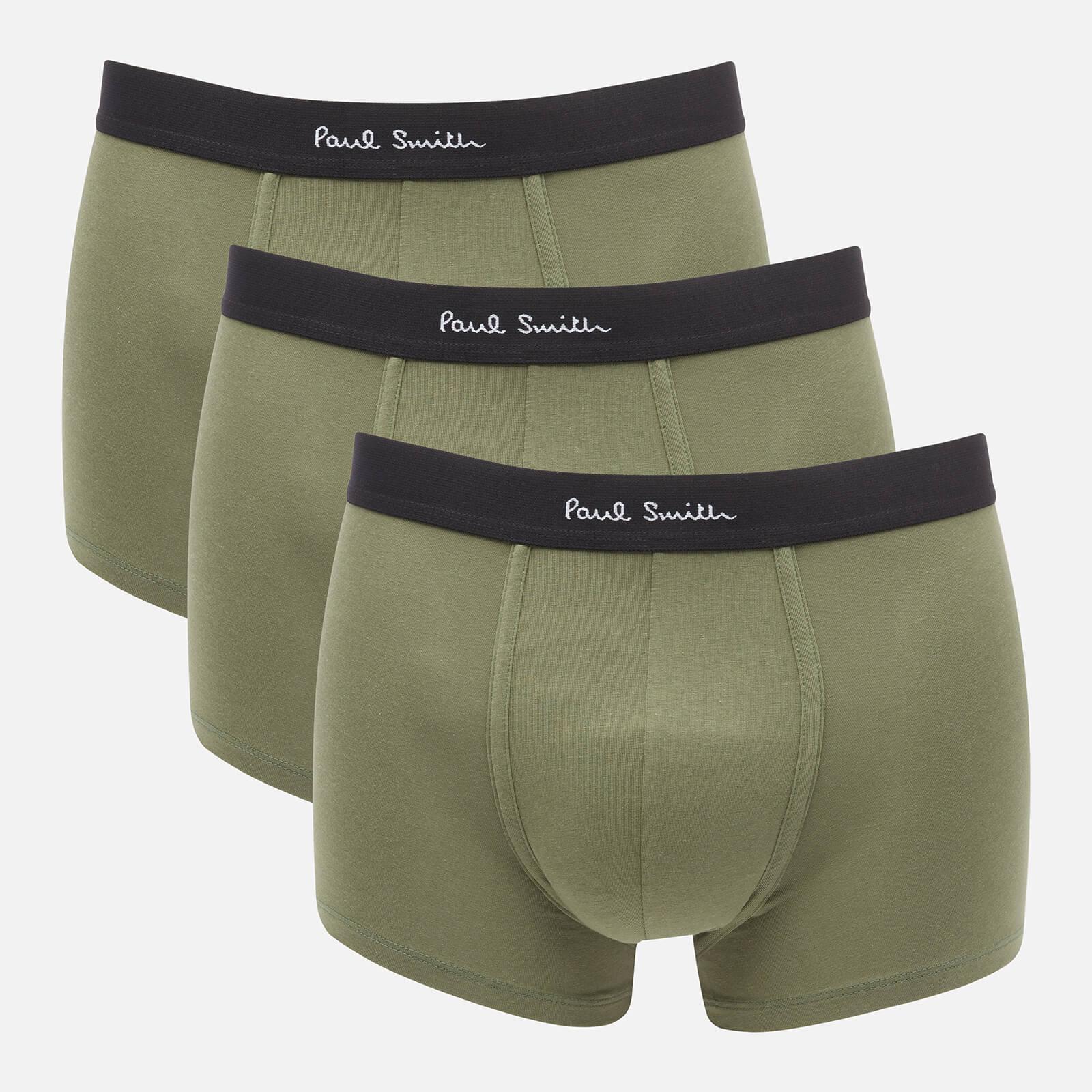 PS Paul Smith Men's 3-Pack Trunks - Khaki - S
