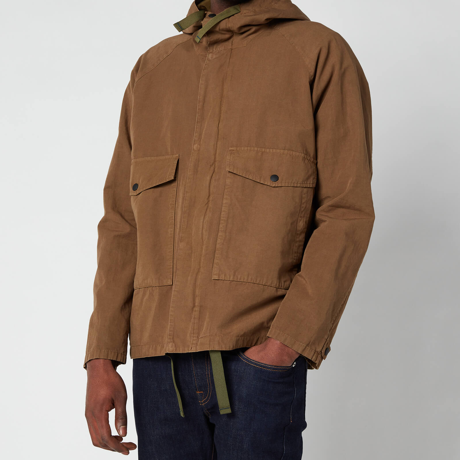 PS Paul Smith Men's Hooded Jacket - Tan - S
