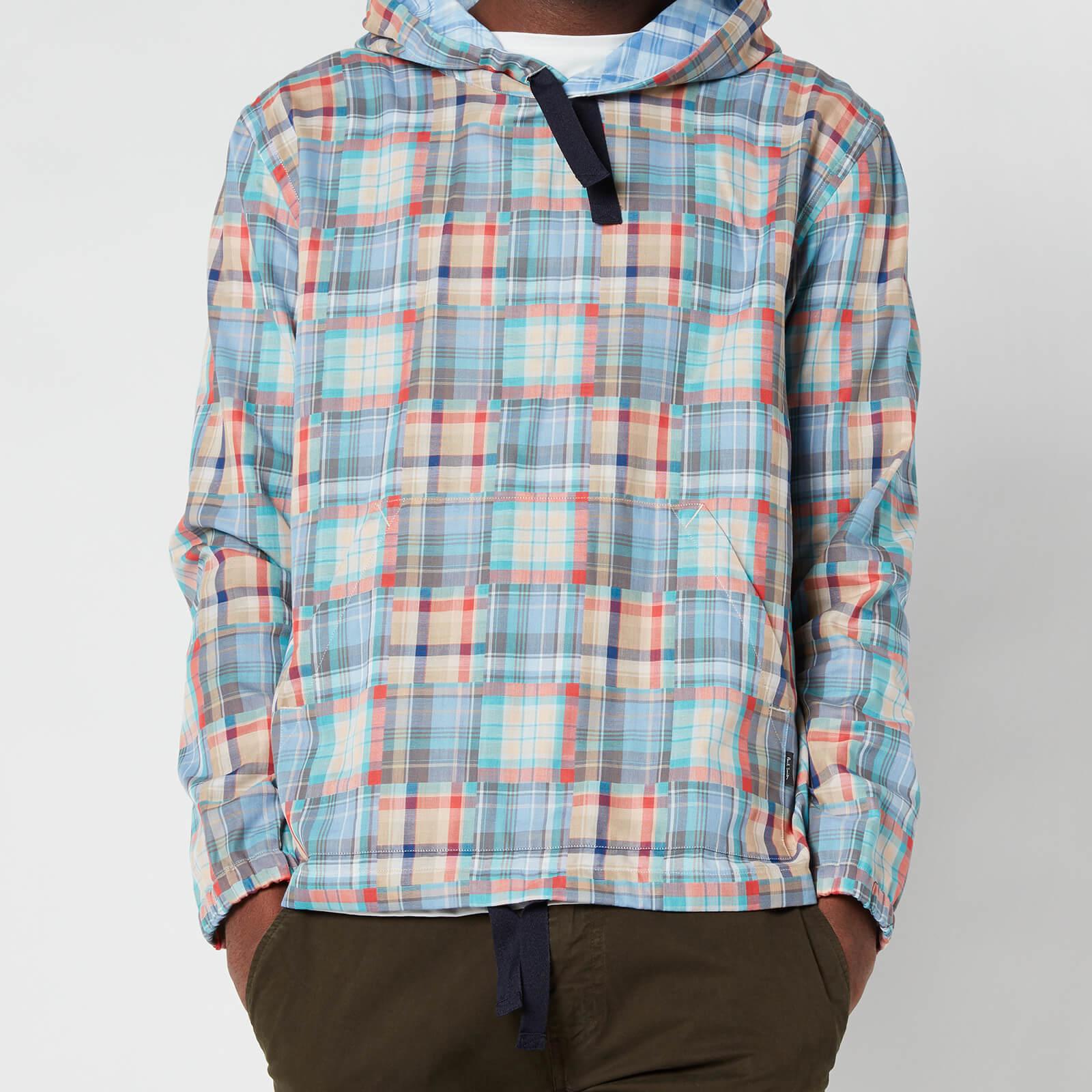PS Paul Smith Men's Hooded Overshirt - Multi - M