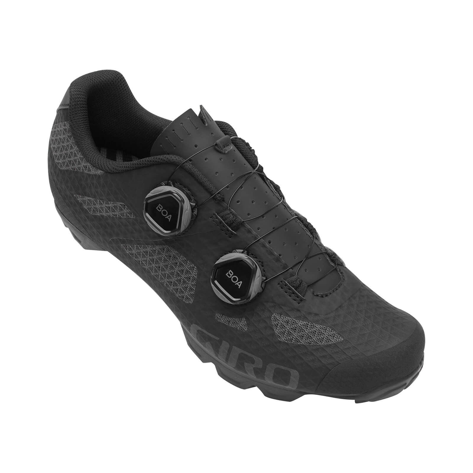 Giro Sector MTB Shoe - EU 47 - Black/Dark Shadow