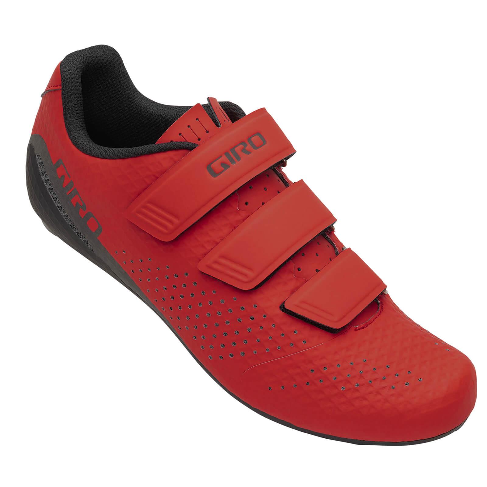 Giro Stylus Road Shoe - EU 45 - Red