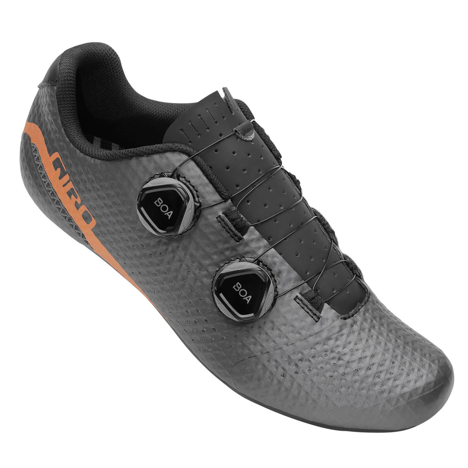 Giro Regime Road Shoe - EU 48 - Black/Copper