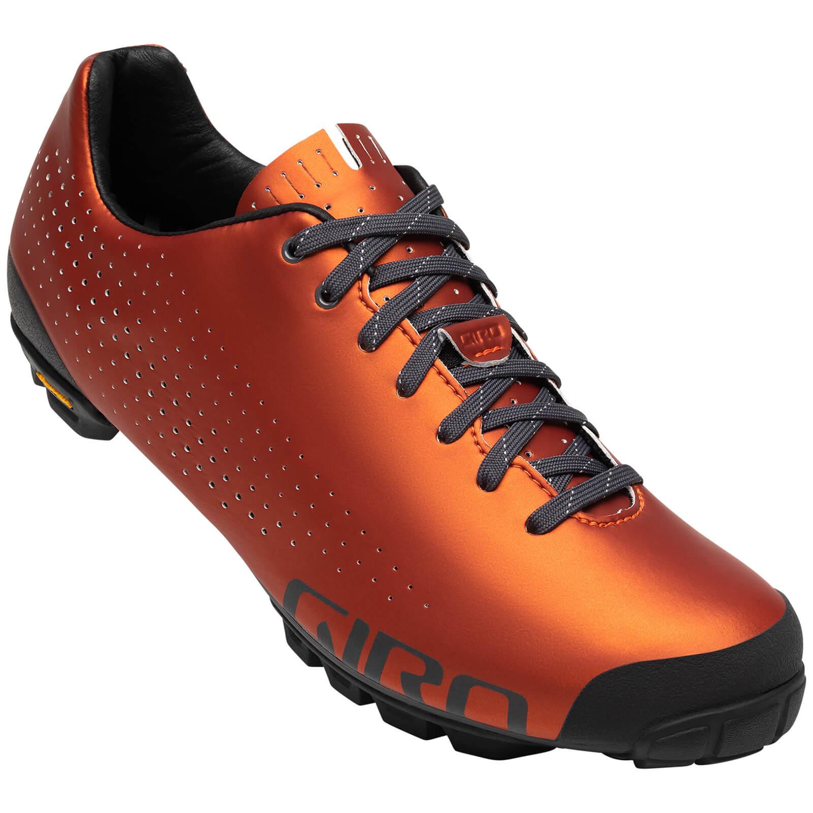 Giro Empire VR90 MTB Shoe - EU 40 - Red Orange Anodized