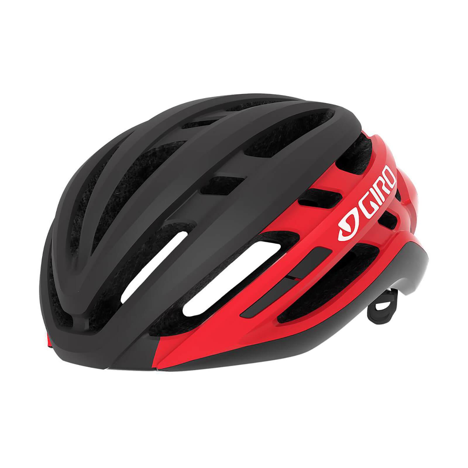 Giro Agilis MIPS Road Helmet - M/55-59cm - Matte Black/Bright Red