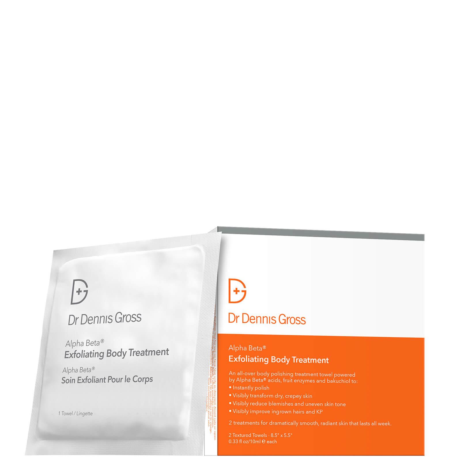Dr Dennis Gross Skincare Alpha Beta Exfoliating Body Treatment 2 x 10ml