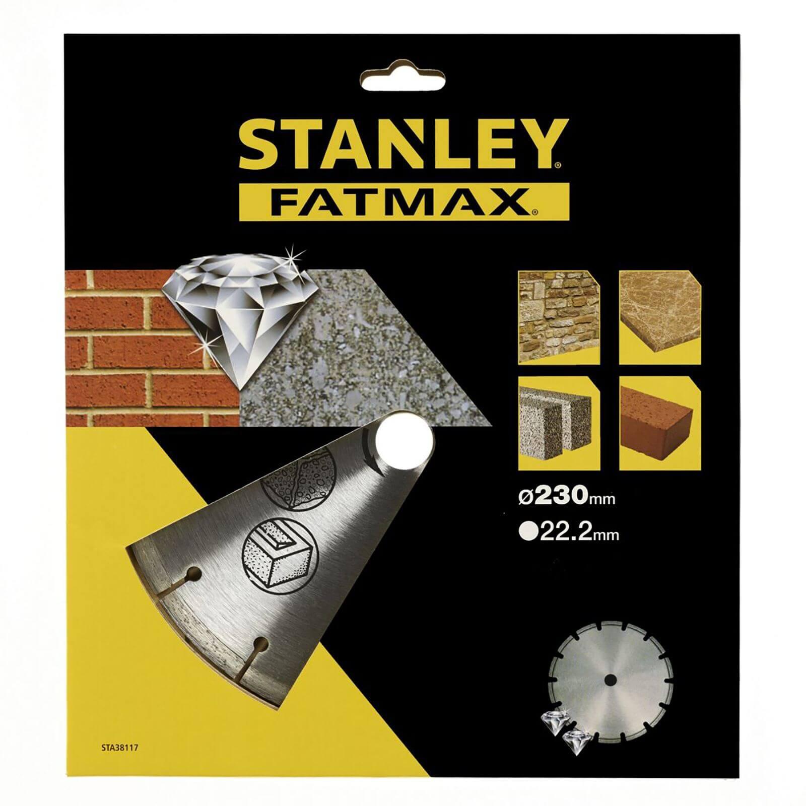 Stanley Fatmax Diamond Disc 230mm Seg Rim - STA38117-XJ