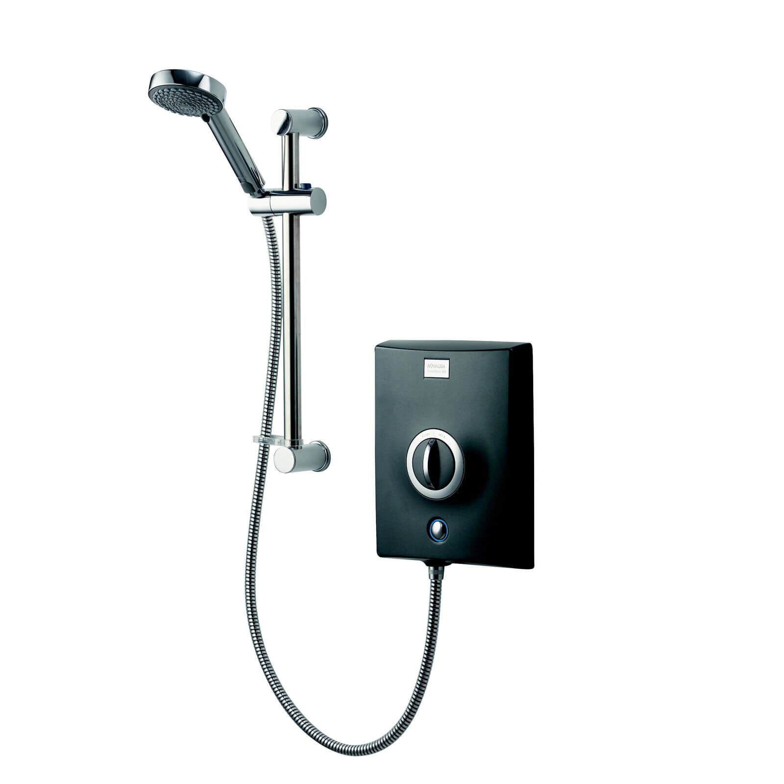 Aqualisa Quartz 10.5kw Electric Shower - Graphite/Chrome