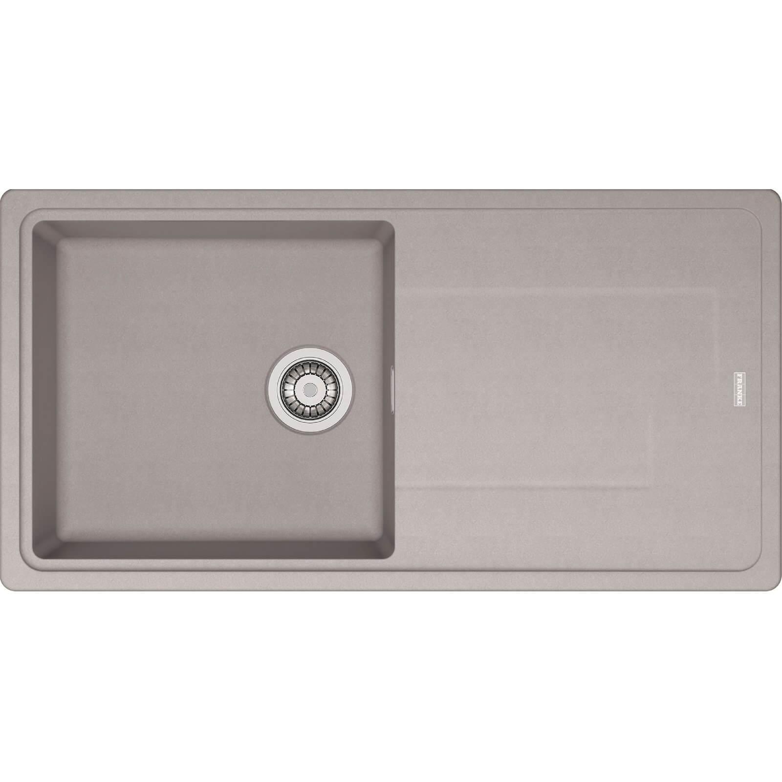 Franke Gemini Grey Reversible Kitchen Sink - 1 Bowl