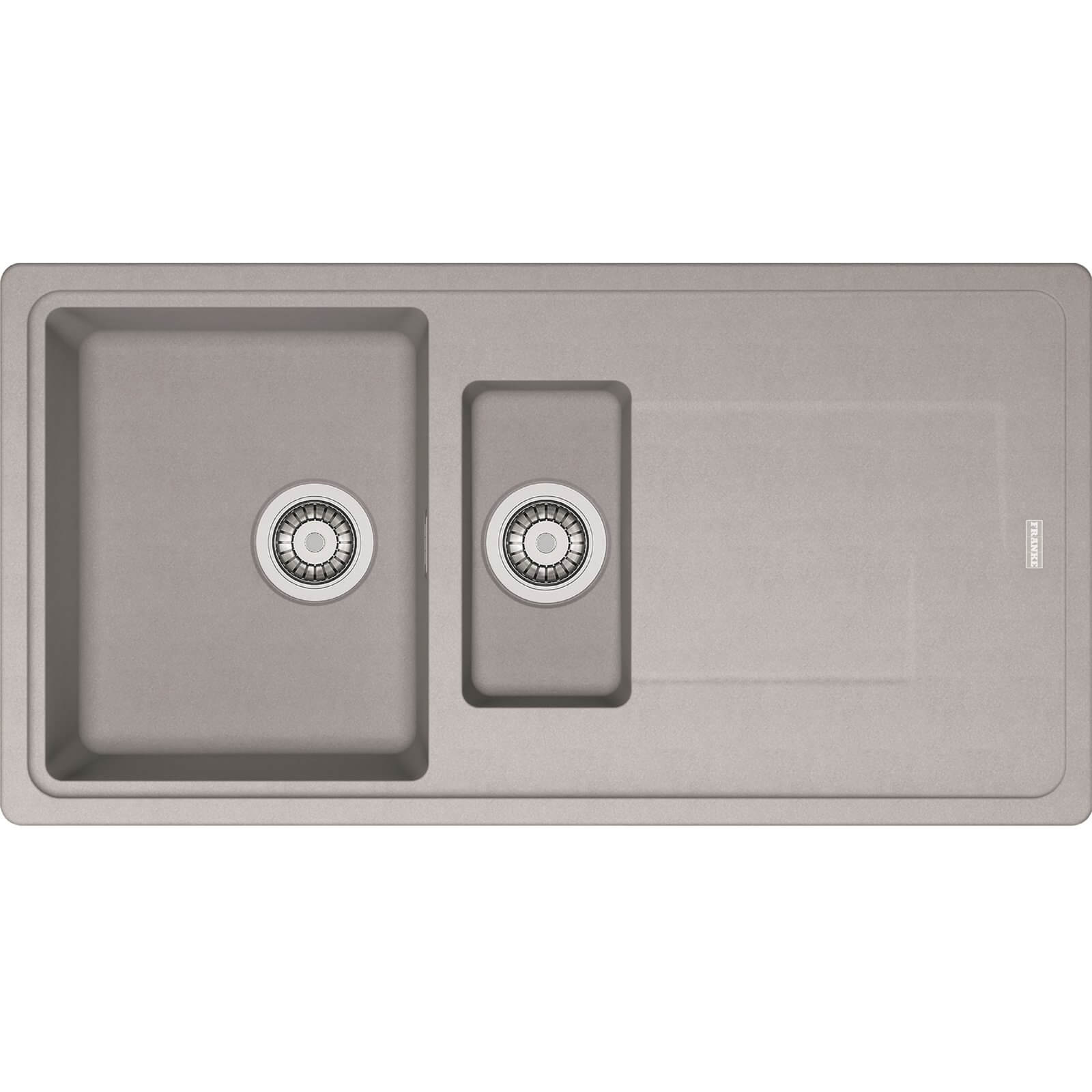 Franke Gemini Grey Reversible Kitchen Sink - 1.5 Bowl