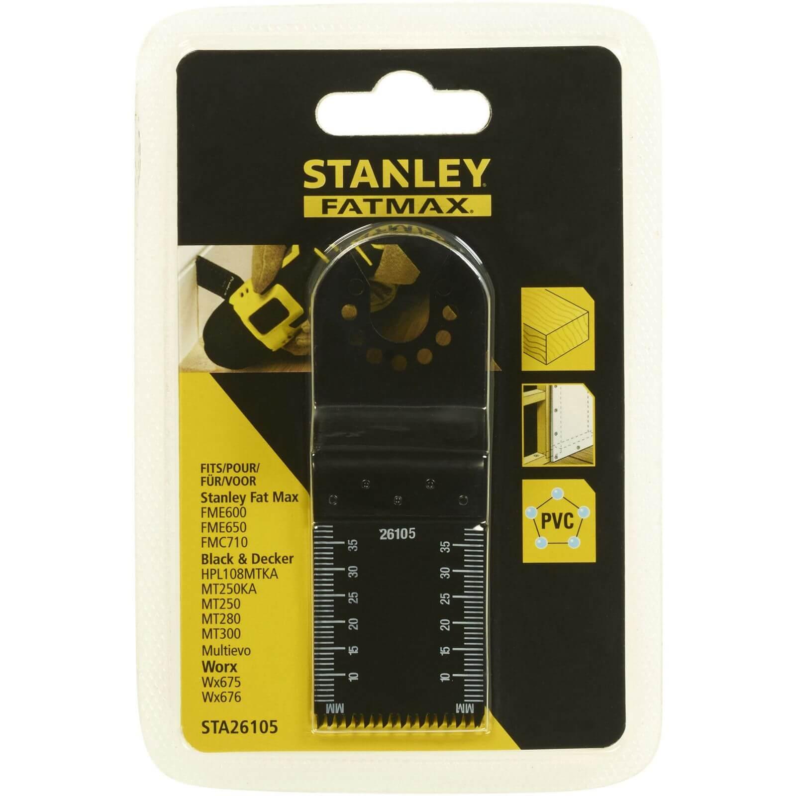 Stanley Fatmax 32x40mm HCS Wood Plungecut - STA26105-XJ