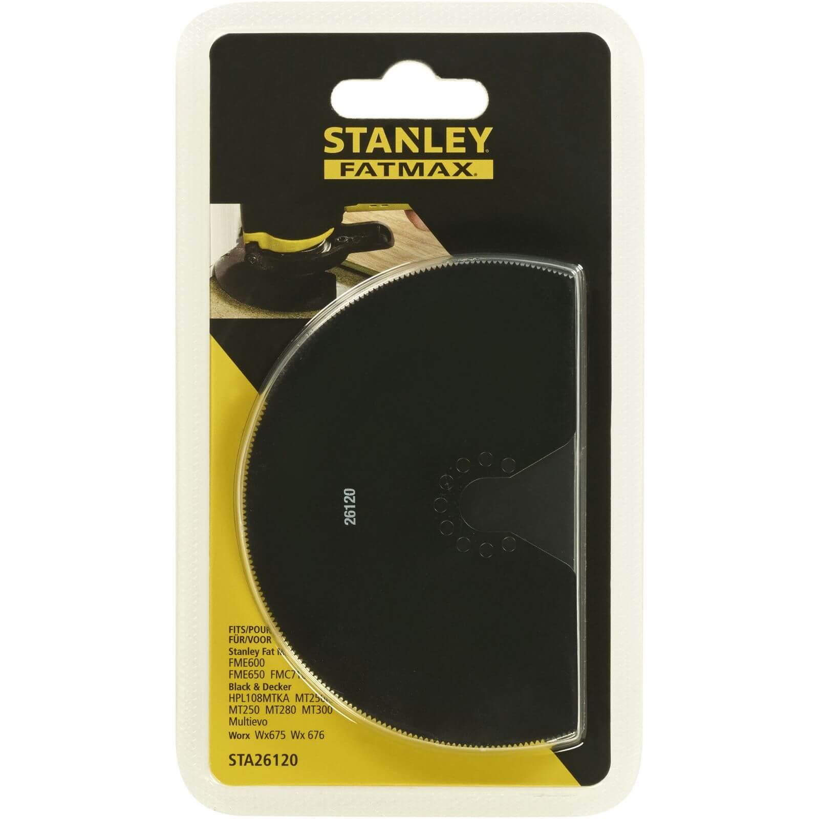 Stanley Fatmax 100mm HSS 180 Degrees Wood/Metal - STA26120-XJ