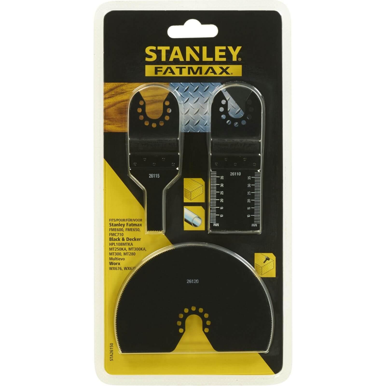 Stanley Fatmax Oscillator Set - 3pc Cutting - STA26150-XJ