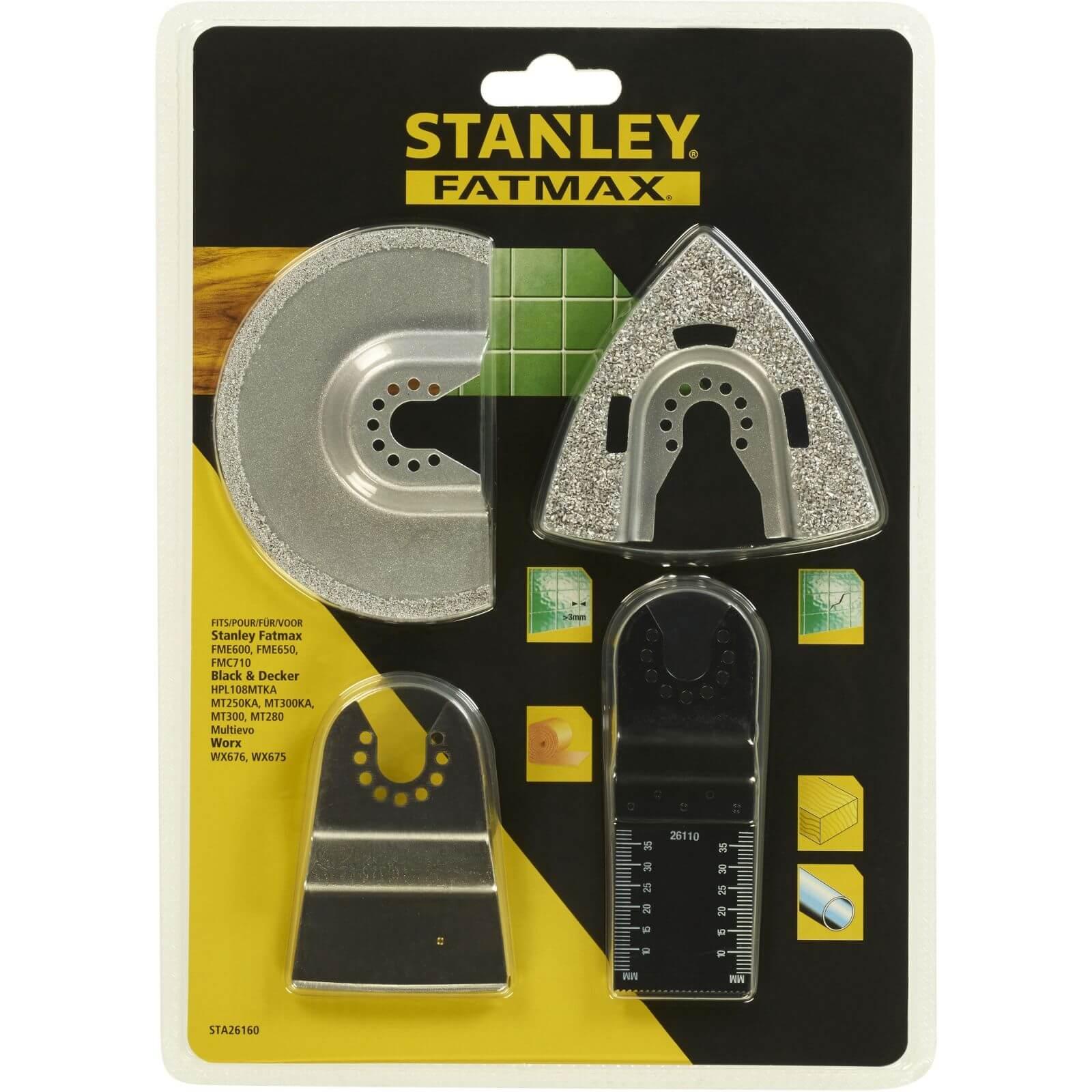 Stanley Fatmax Oscillator Set - 4pc Tiling - STA26160-XJ