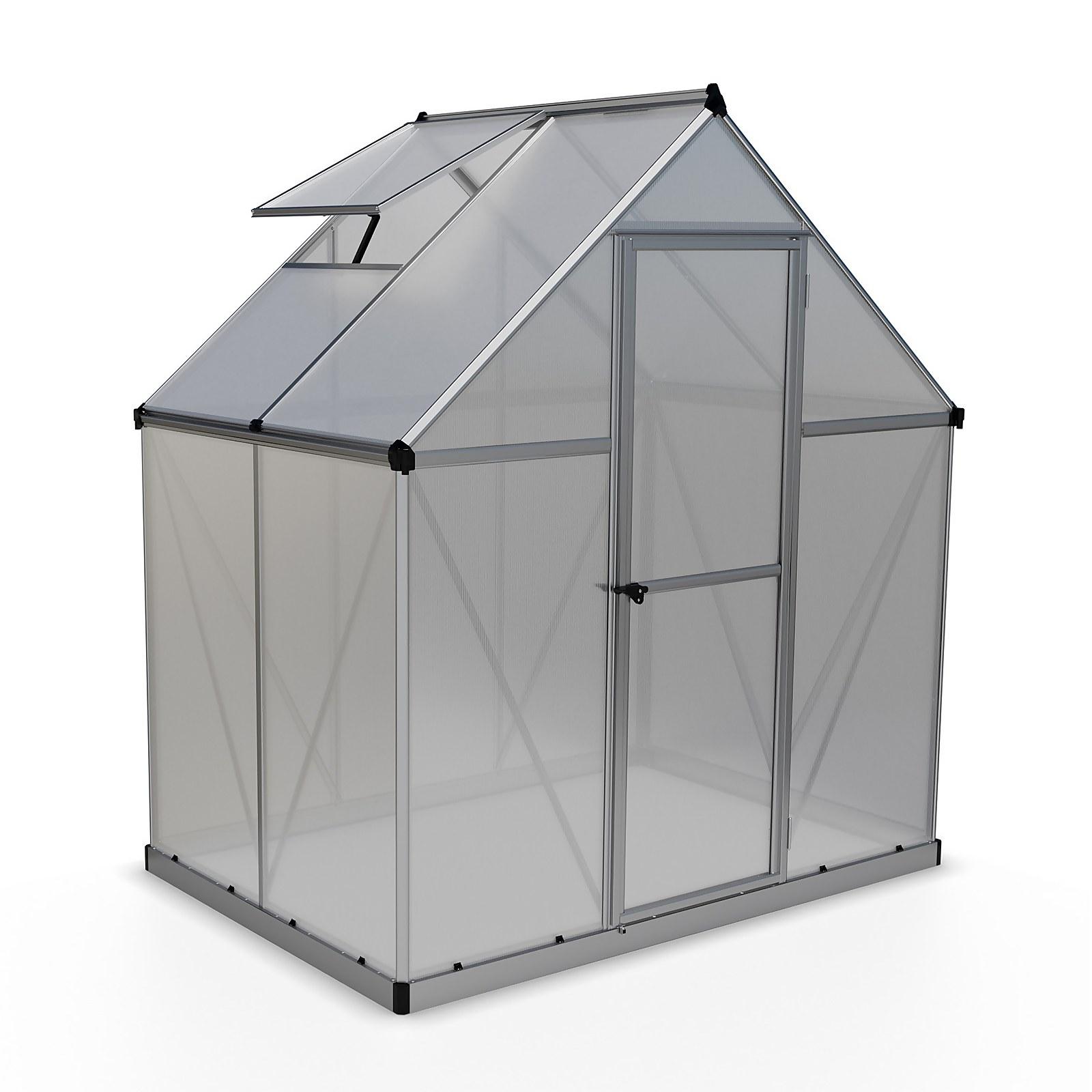 Palram - Canopia Mythos Greenhouse 6X4 Silver