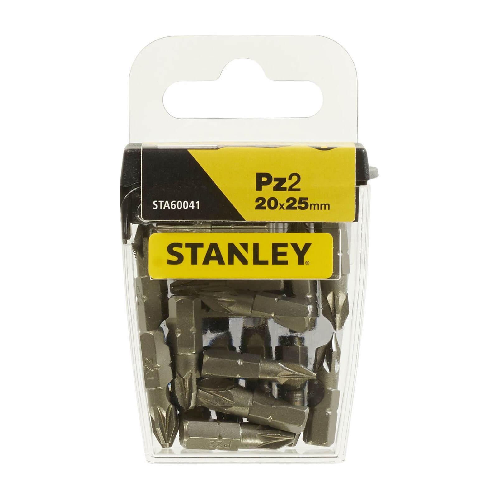 Stanley Fatmax 20x Pz2 25mm Tic-Tac Bit Box - STA60041-XJ
