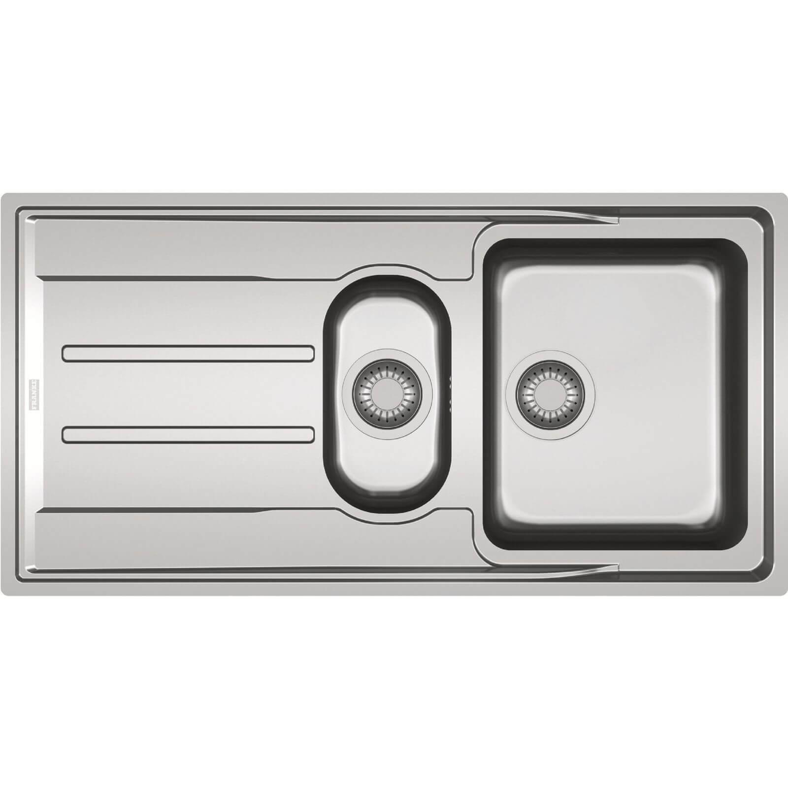 Franke Aton Reversible Kitchen Sink - 1.5 Bowl