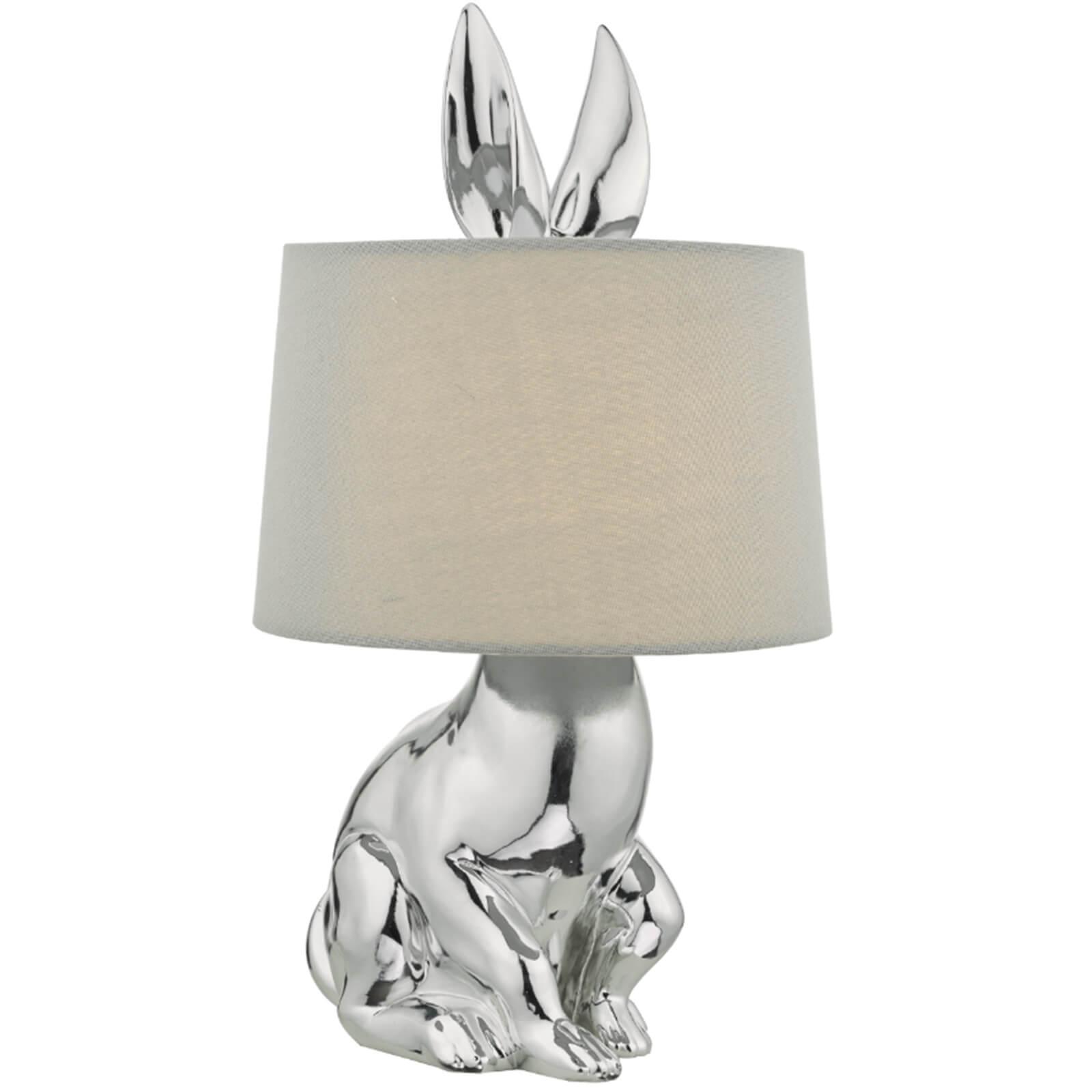 Rodger Table Lamp - Chrome