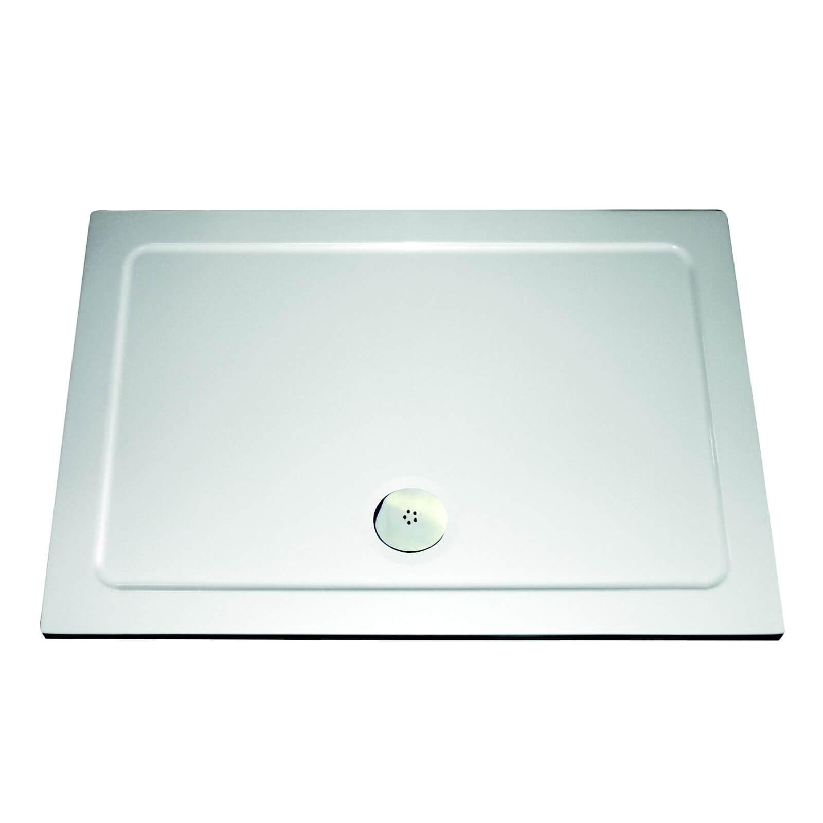 Aqualux Rectangular Shower Tray - 1700 x 800 x 35mm