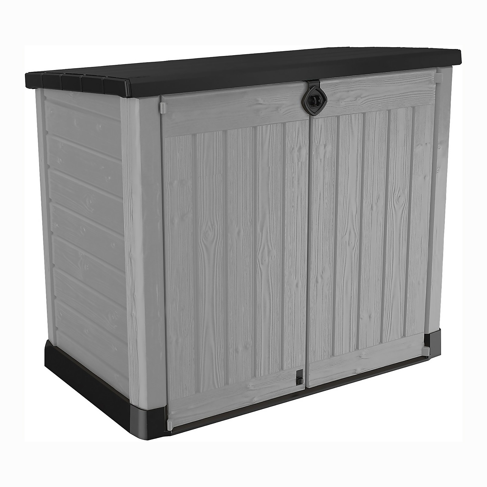 Keter Store It Out Ace Outdoor Garden Storage Shed 1200L - Grey / Graphite