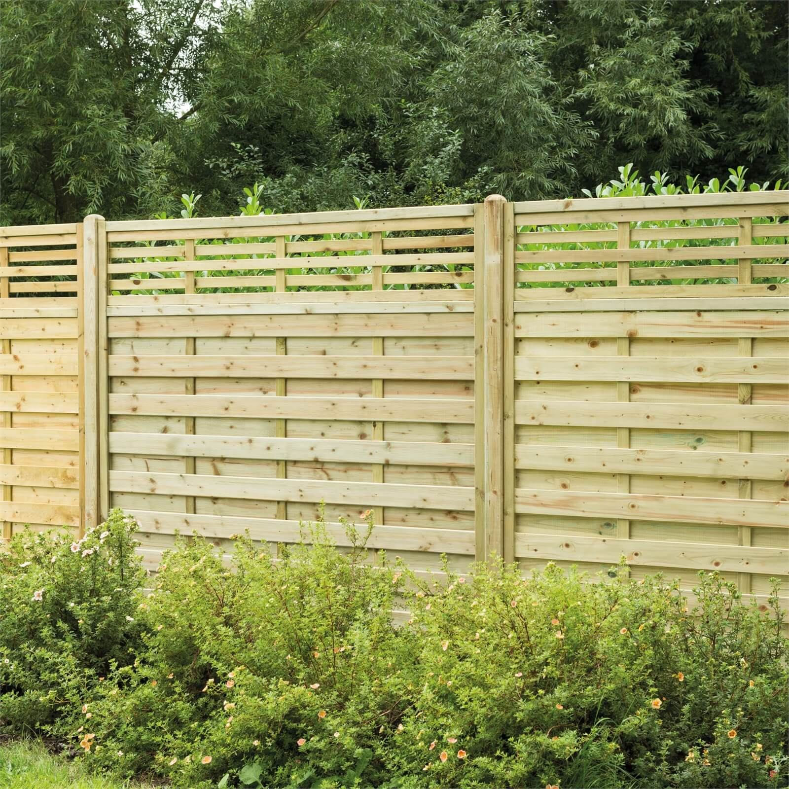 Forest Kyoto Fence Panel - 5ft - Pack of 4