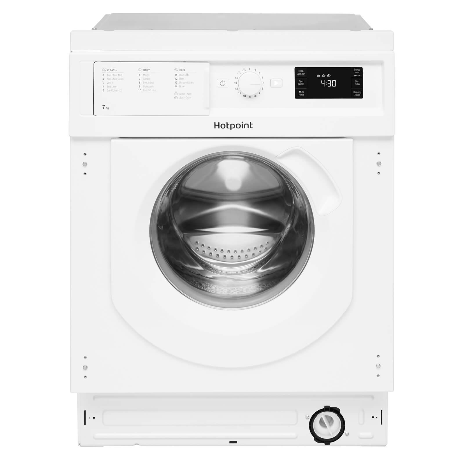 Hotpoint BI WMHG 71284 UK Integrated Washing Machine - White