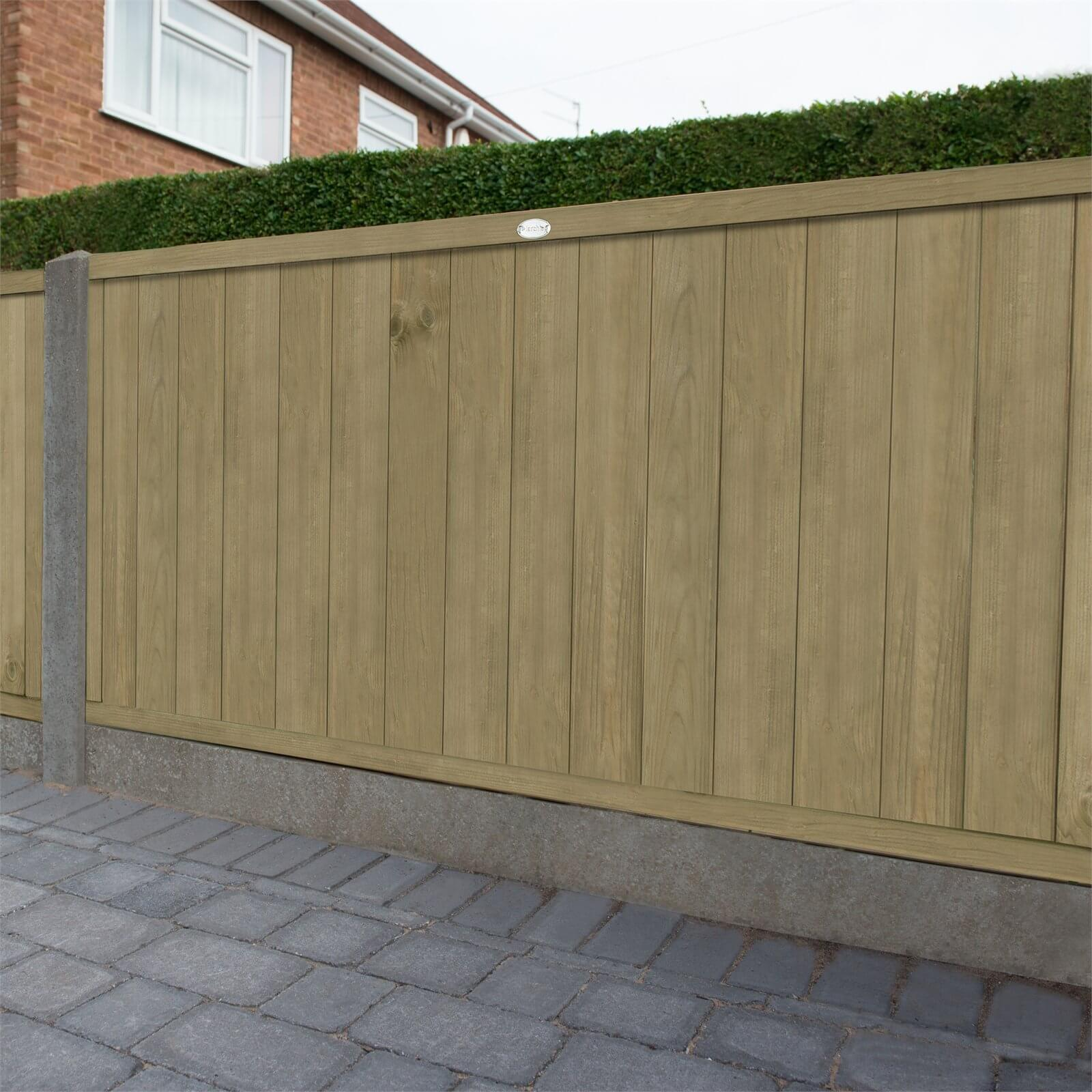 Forest Vertical Tongue & Groove Fence Panel - 4ft - Pack of 4