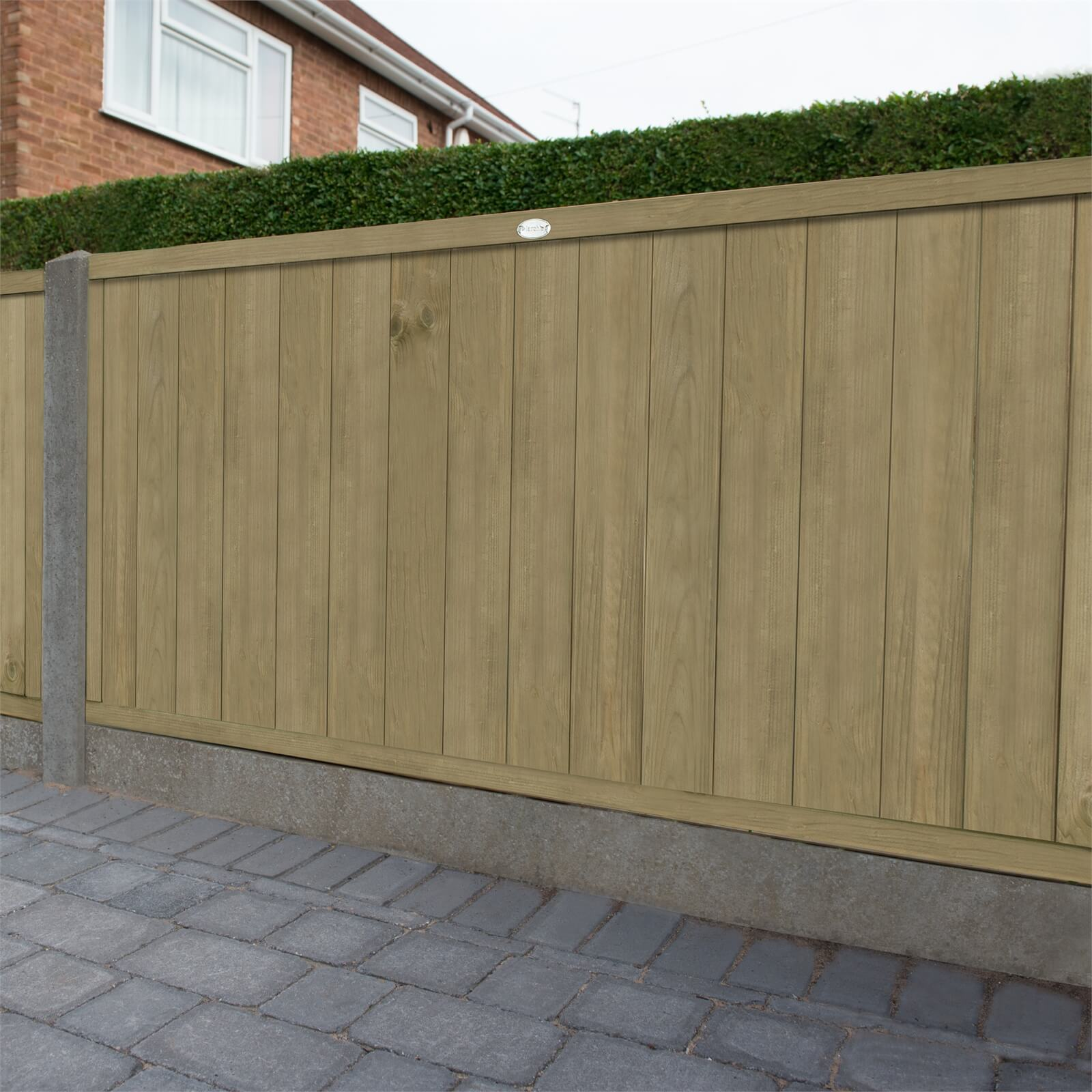 Forest Vertical Tongue & Groove Fence Panel - 4ft - Pack of 3