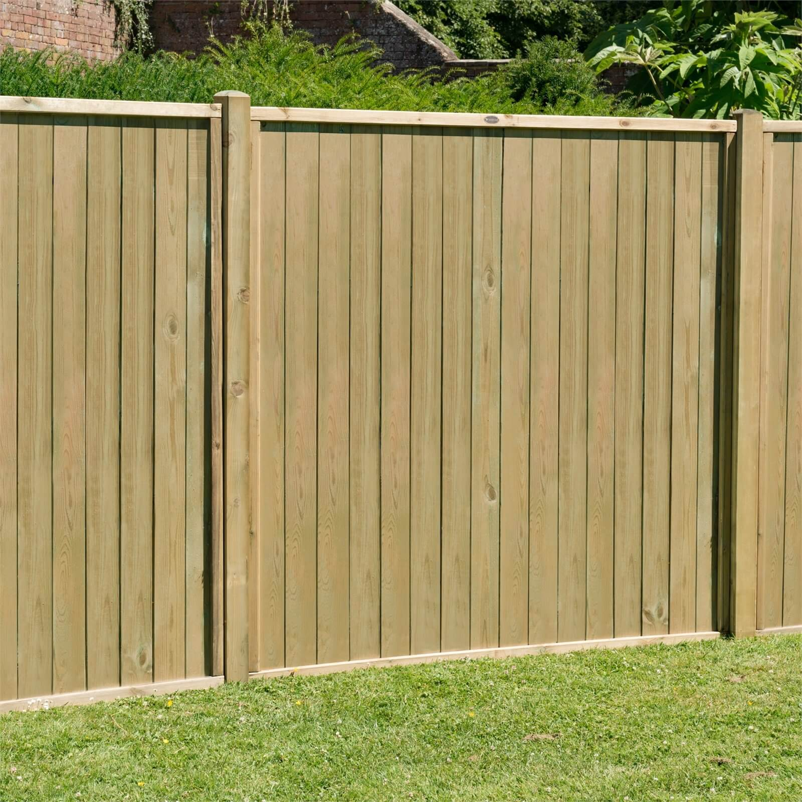 Forest Vertical Tongue & Groove Fence Panel - 6ft - Pack of 4