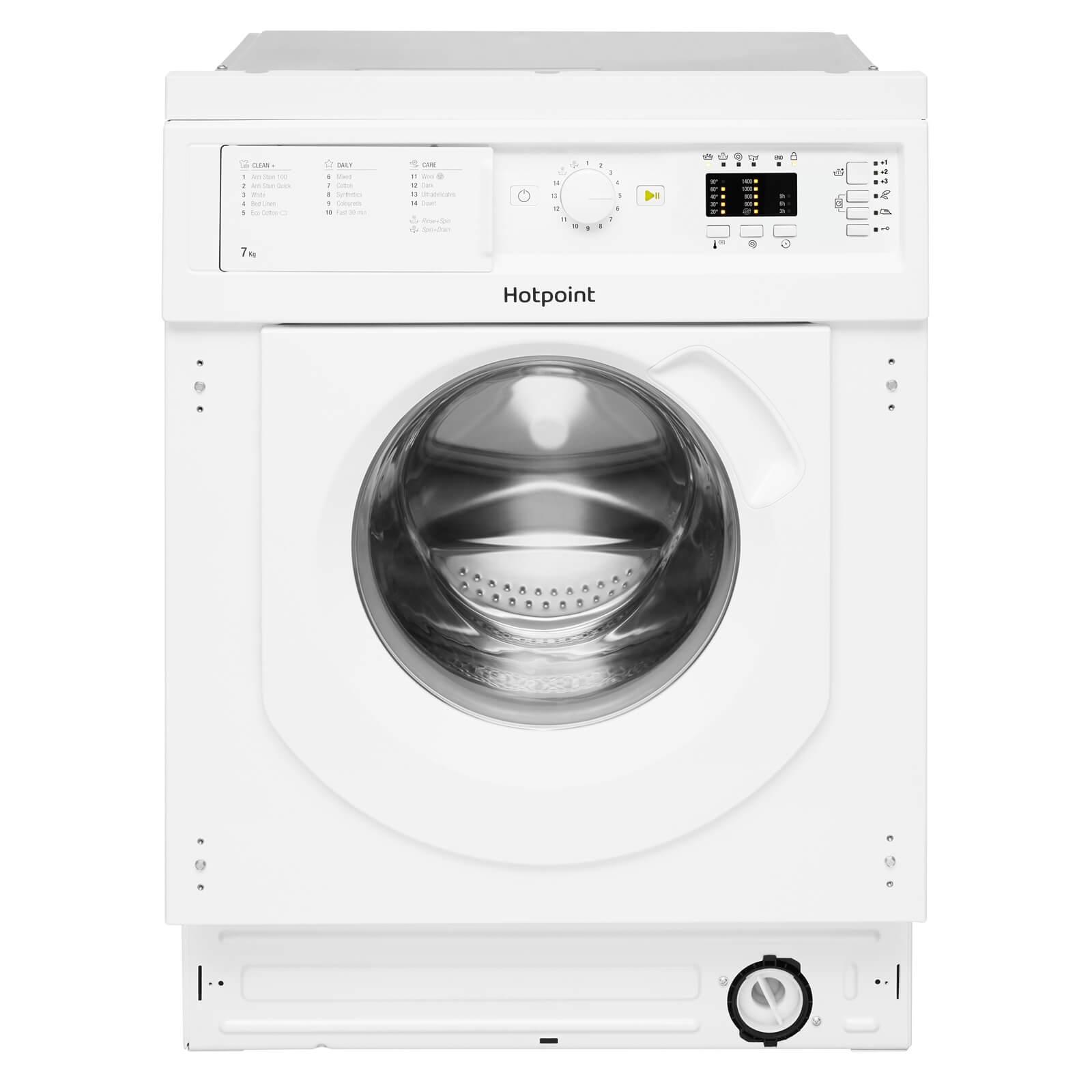 Hotpoint BI WMHL 71453 UK Integrated Washing Machine - White