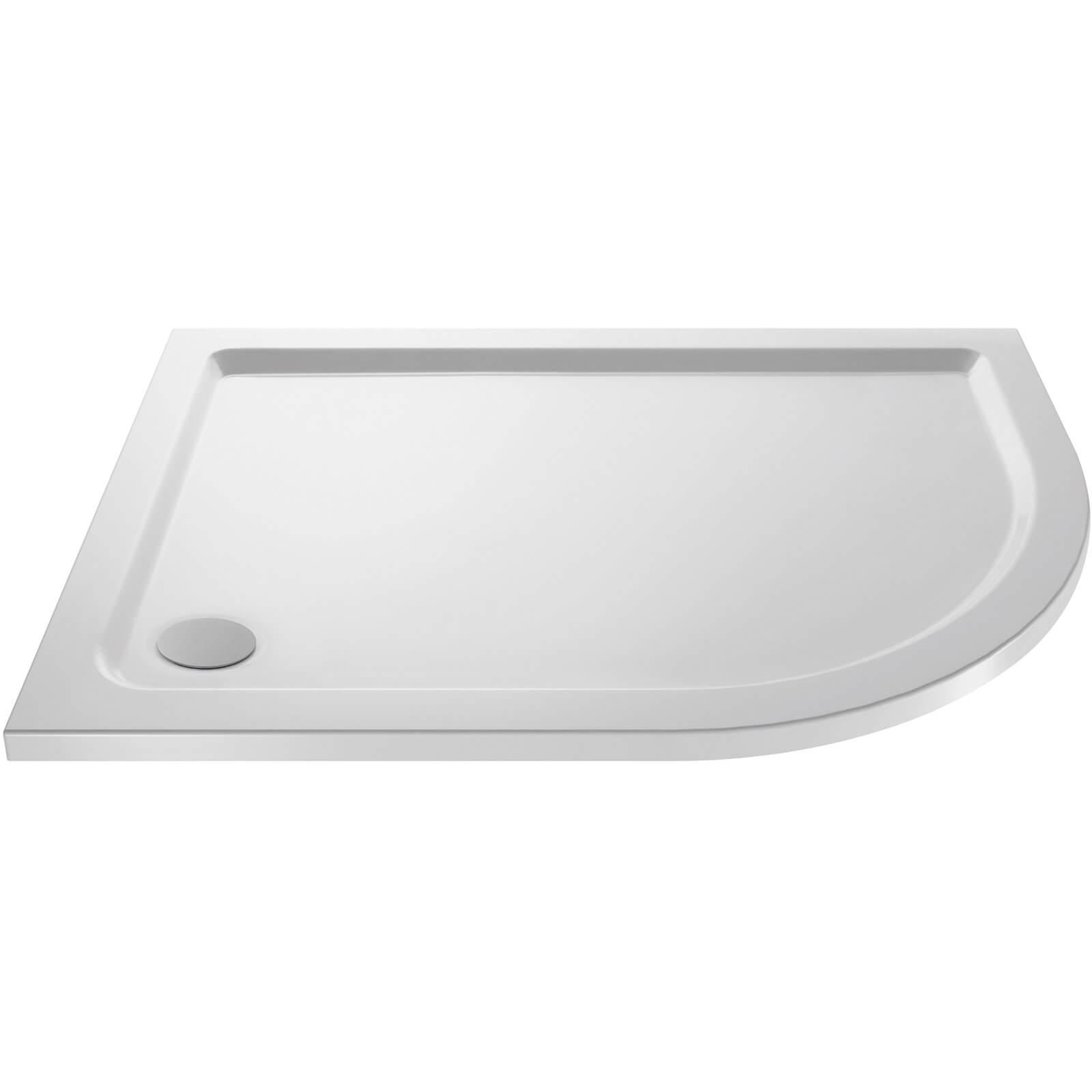 Balterley Right Hand Offset Quadrant Shower Tray - 900 x 760mm