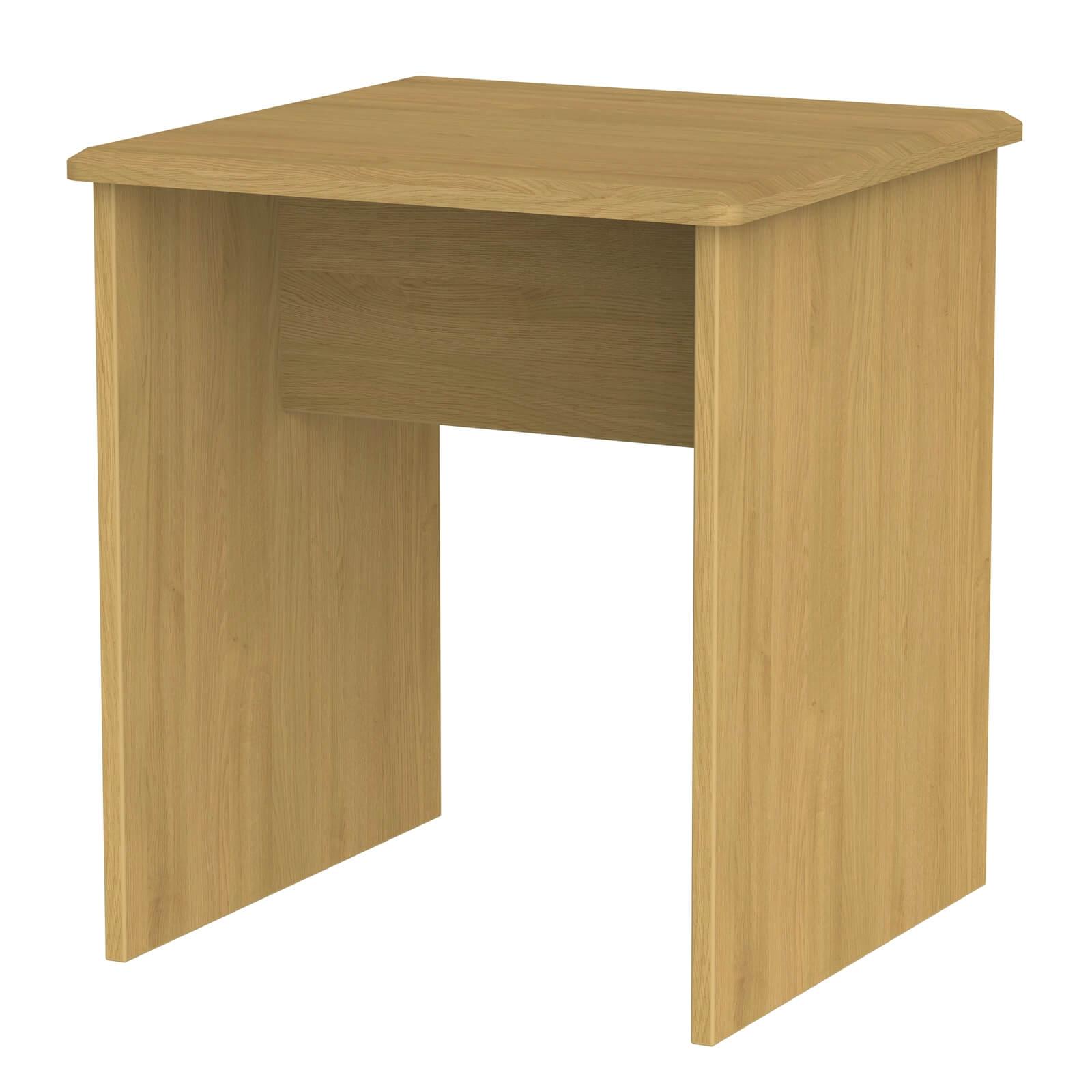 Siena Lamp Table - Modern Oak