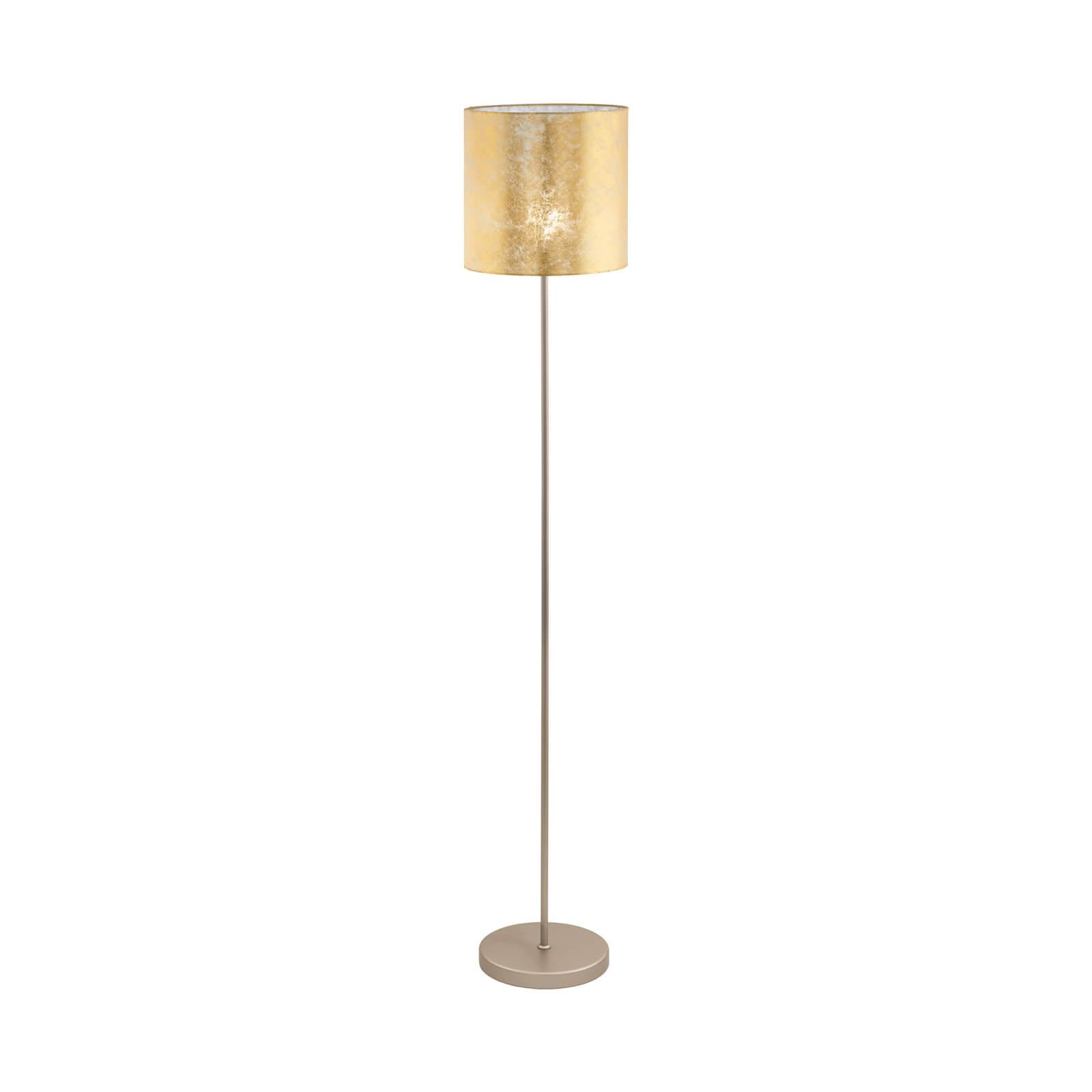 Eglo Viserbella Floor Lamp - Champagne & Gold