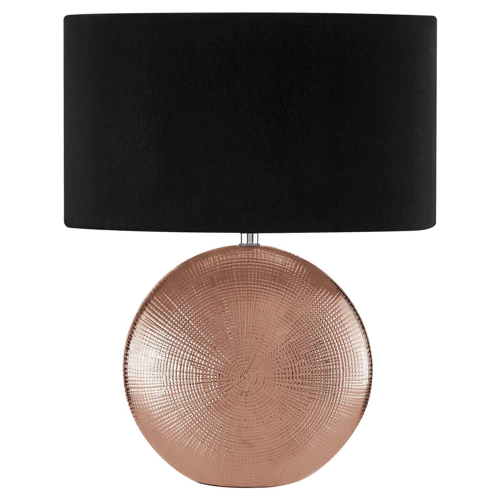 Jasmin Copper Ceramic Table Lamp