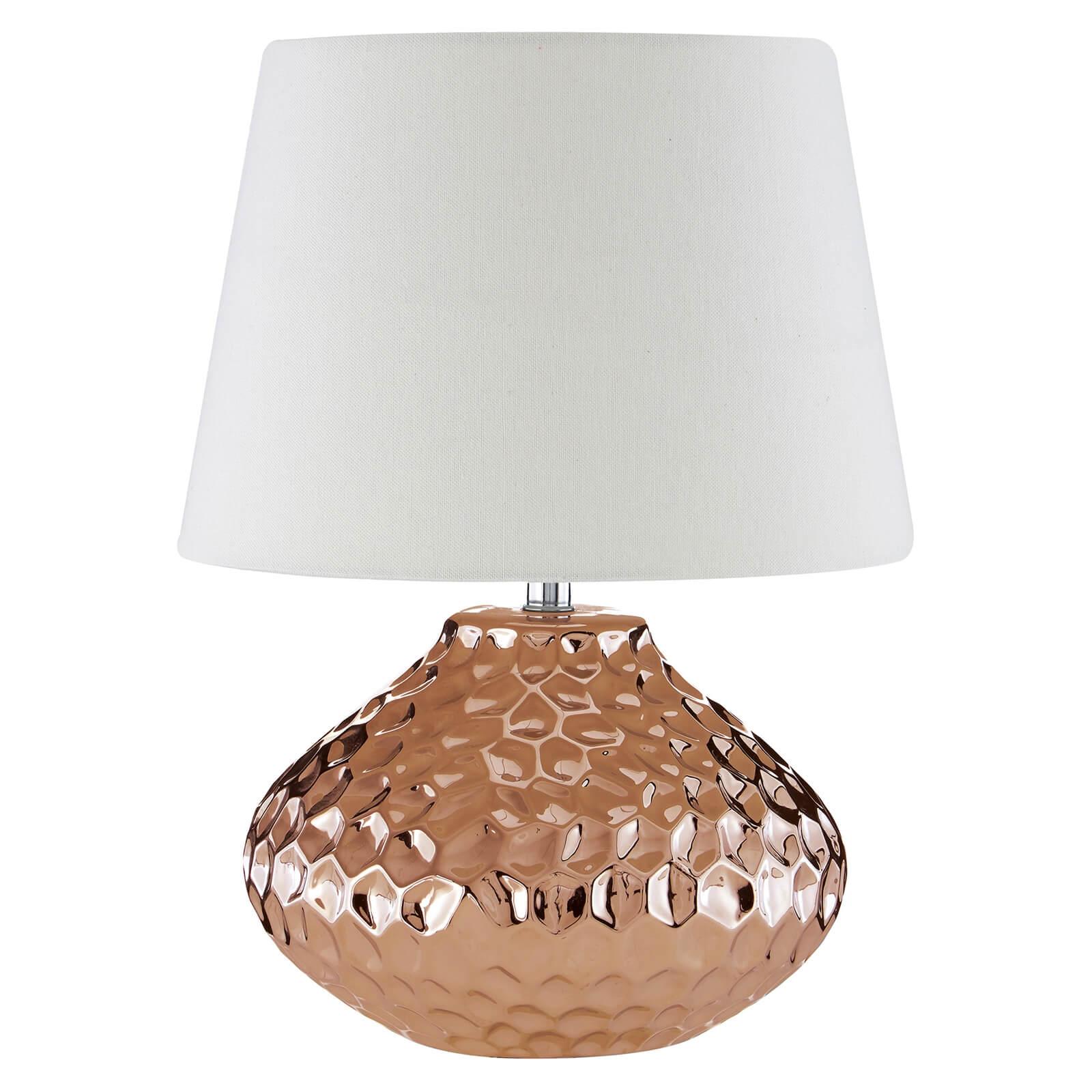Jen Copper Ceramic Table Lamp