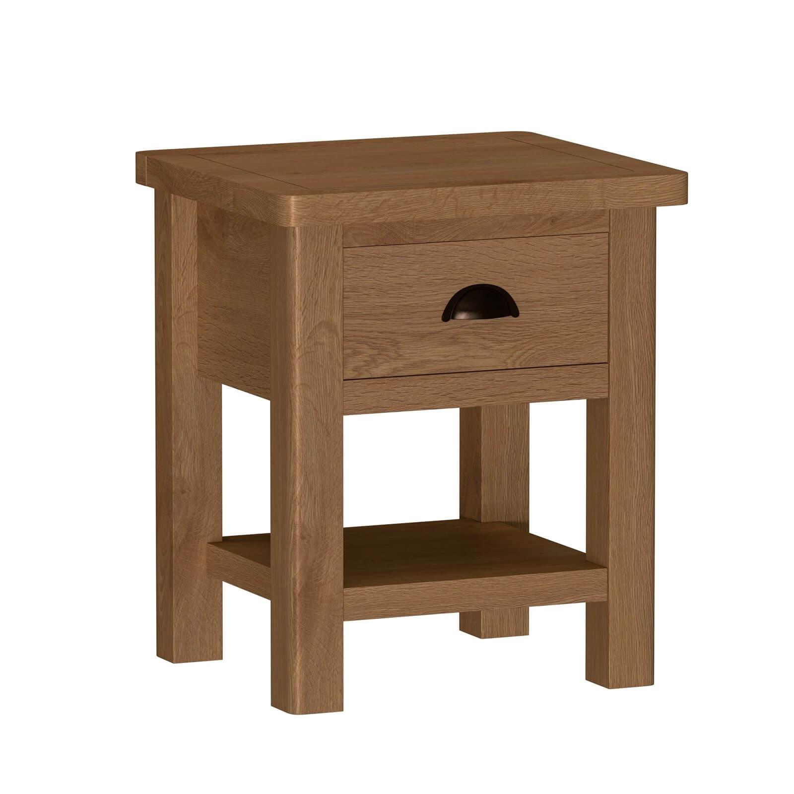 Newlyn Lamp Table - Oak