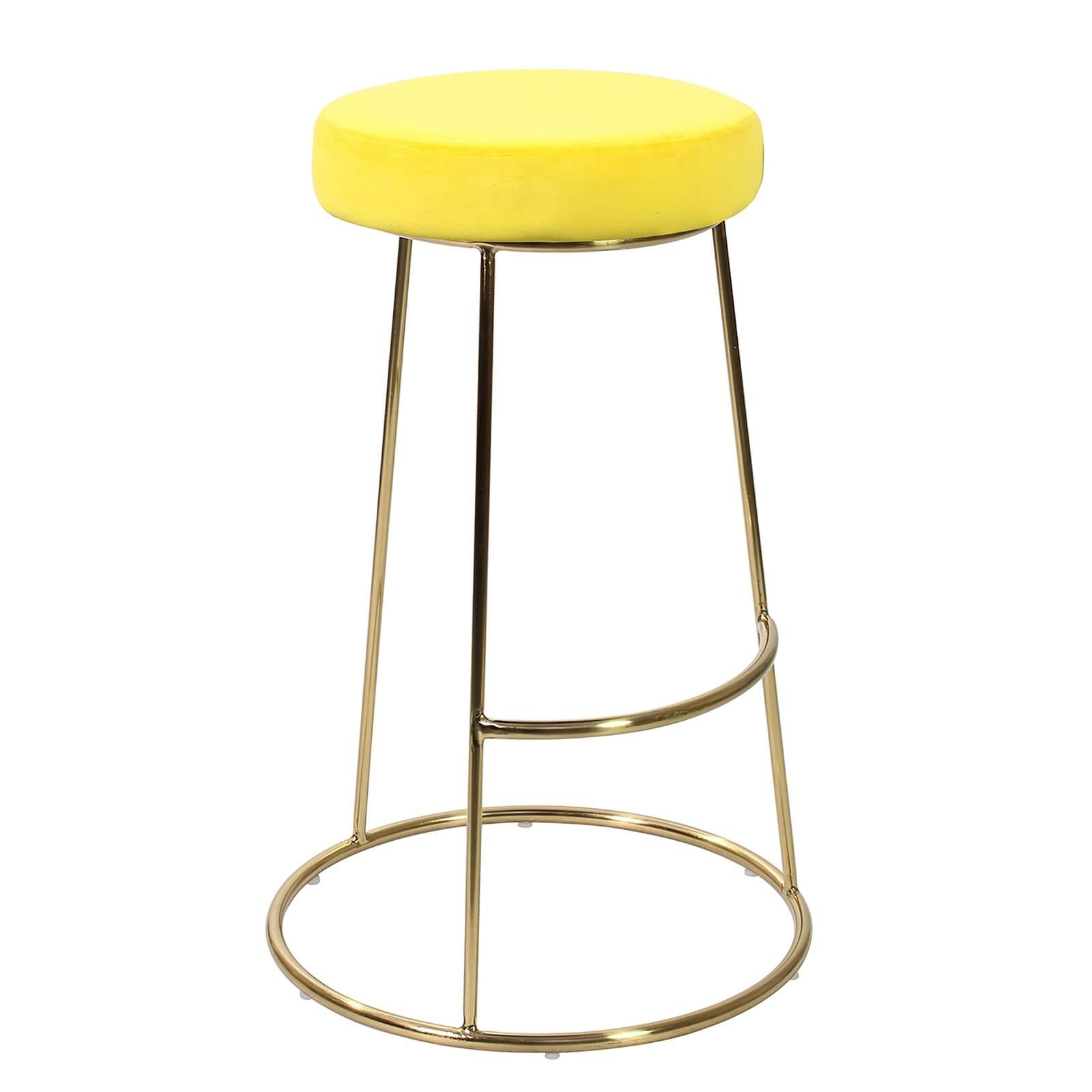 yellow bar stools Best Prices Sale at Tesco, ASDA, The Range, John ...