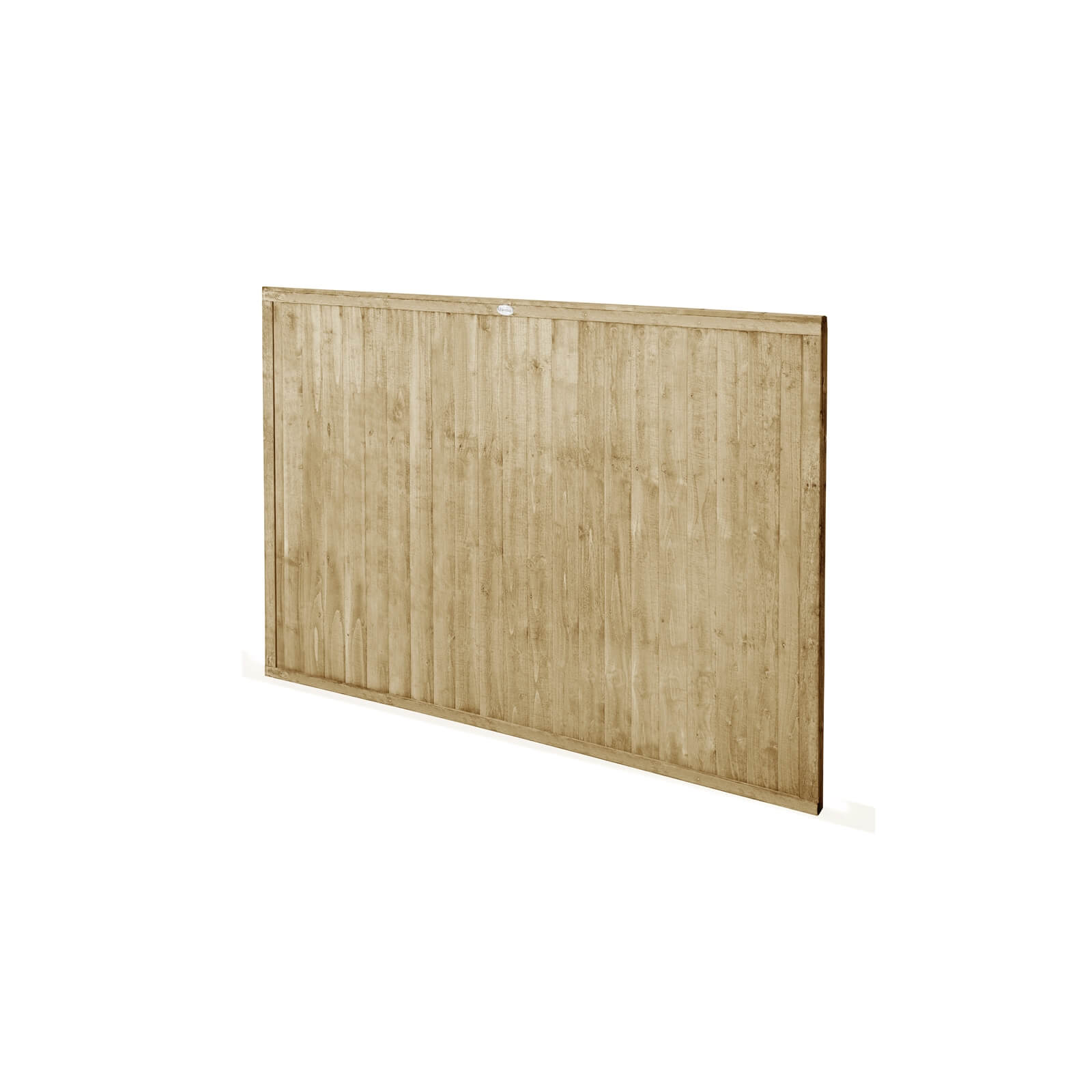 6ft x 4ft (1.83m x 1.22m) Pressure Treated Closeboard Fence Panel - Pack of 3
