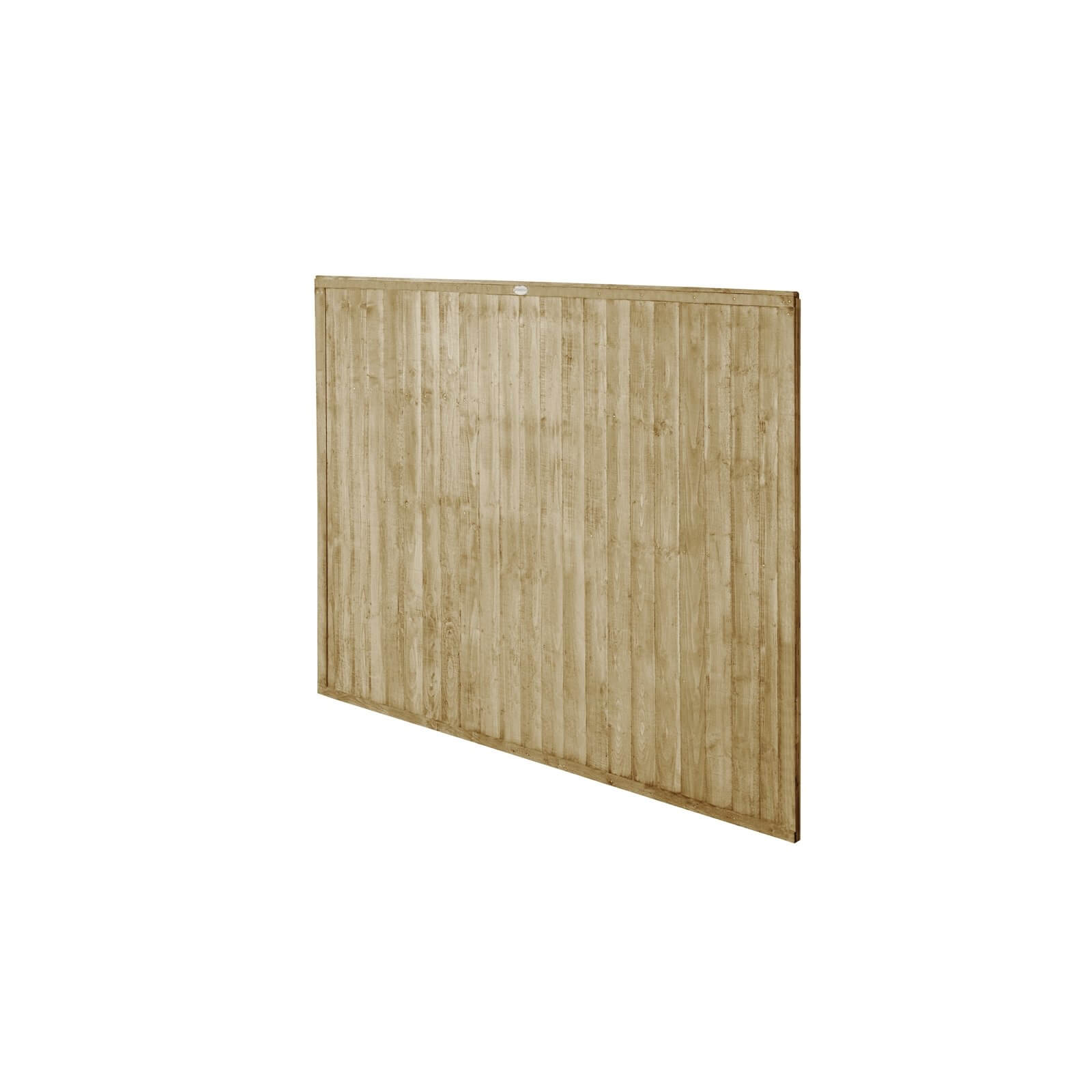 6ft x 5ft (1.83m x 1.52m) Pressure Treated Closeboard Fence Panel - Pack of 3