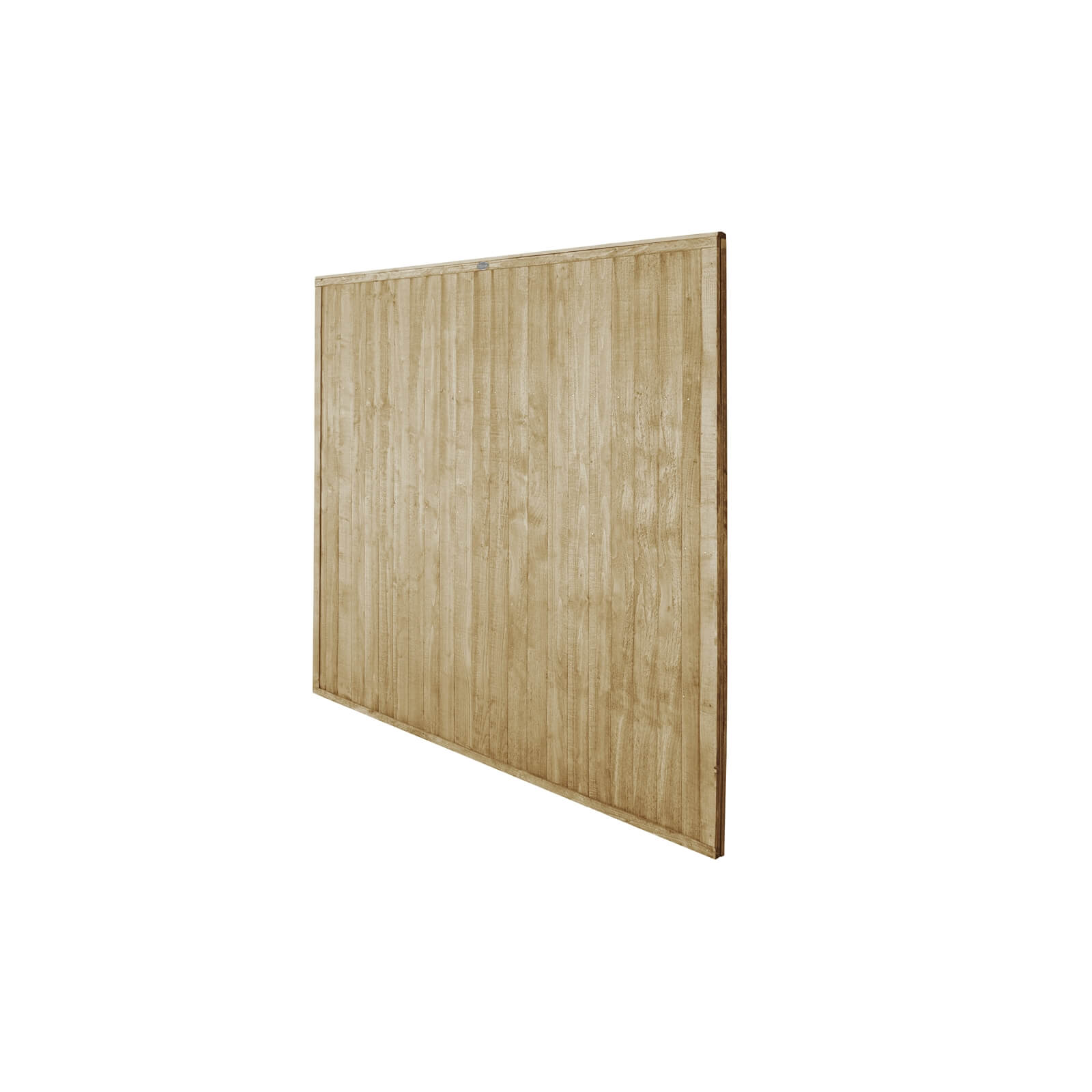 6ft x 6ft (1.83m x 1.83m) Pressure Treated Closeboard Fence Panel - Pack of 3