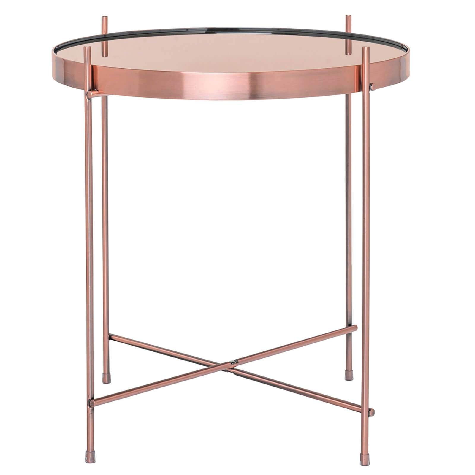 Oakland Lamp Table - Rose Gold