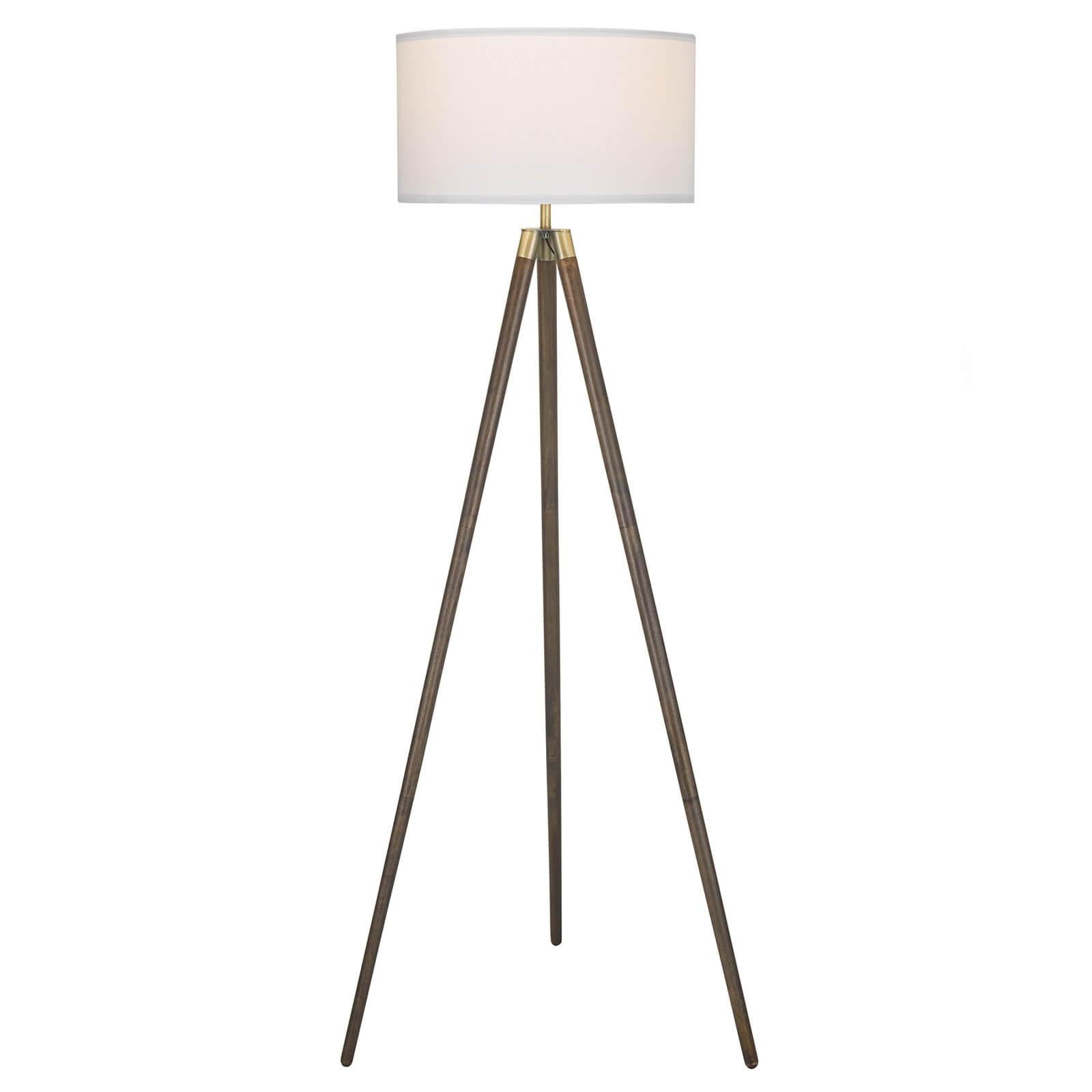 Noah Tripod Floor Lamp - White