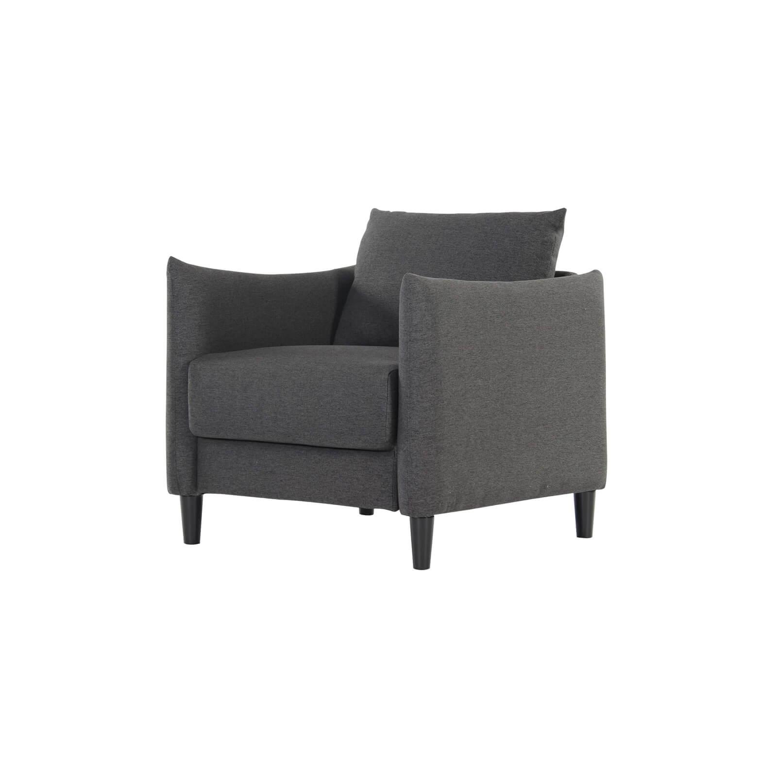 Fargo 1 Seater Armchair - Grey